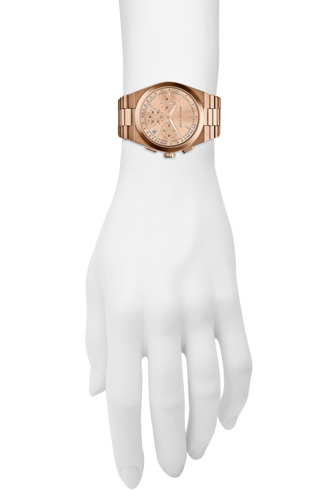 Alternate Image 2  - Michael Kors 'Channing' Chronograph Bracelet Watch, 38mm