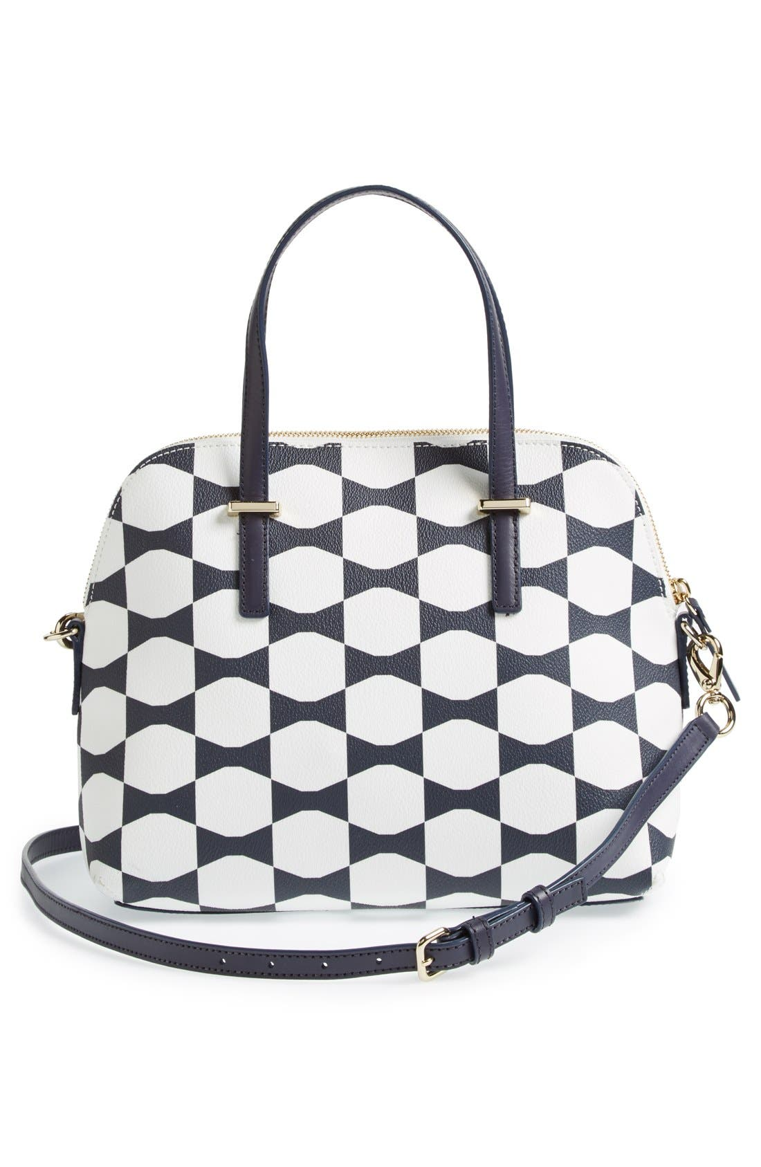 Alternate Image 4  - kate spade new york 'maise - bow tile' satchel