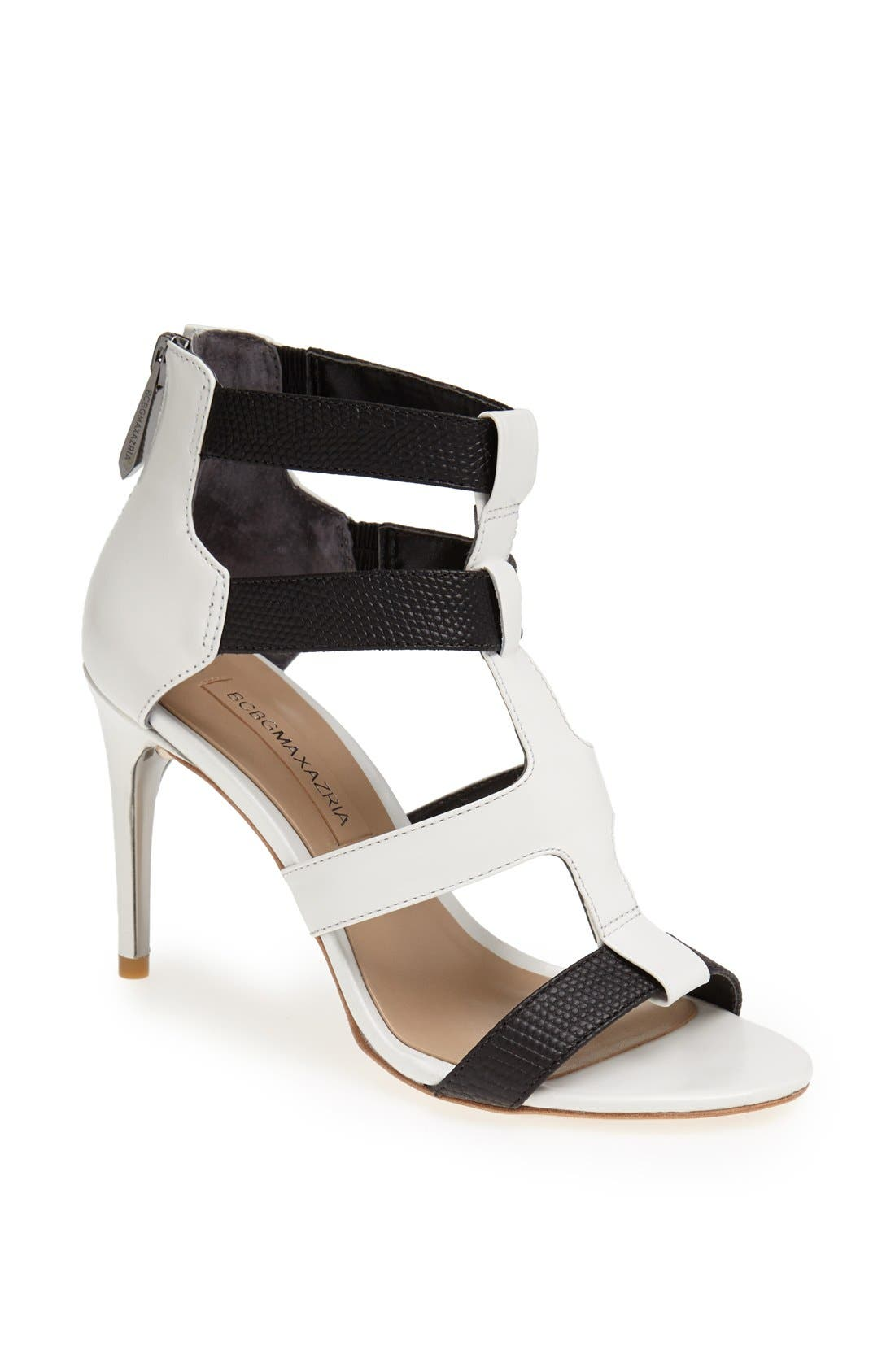 Alternate Image 1 Selected - BCBGMAXAZRIA 'Palmer' Cage Sandal