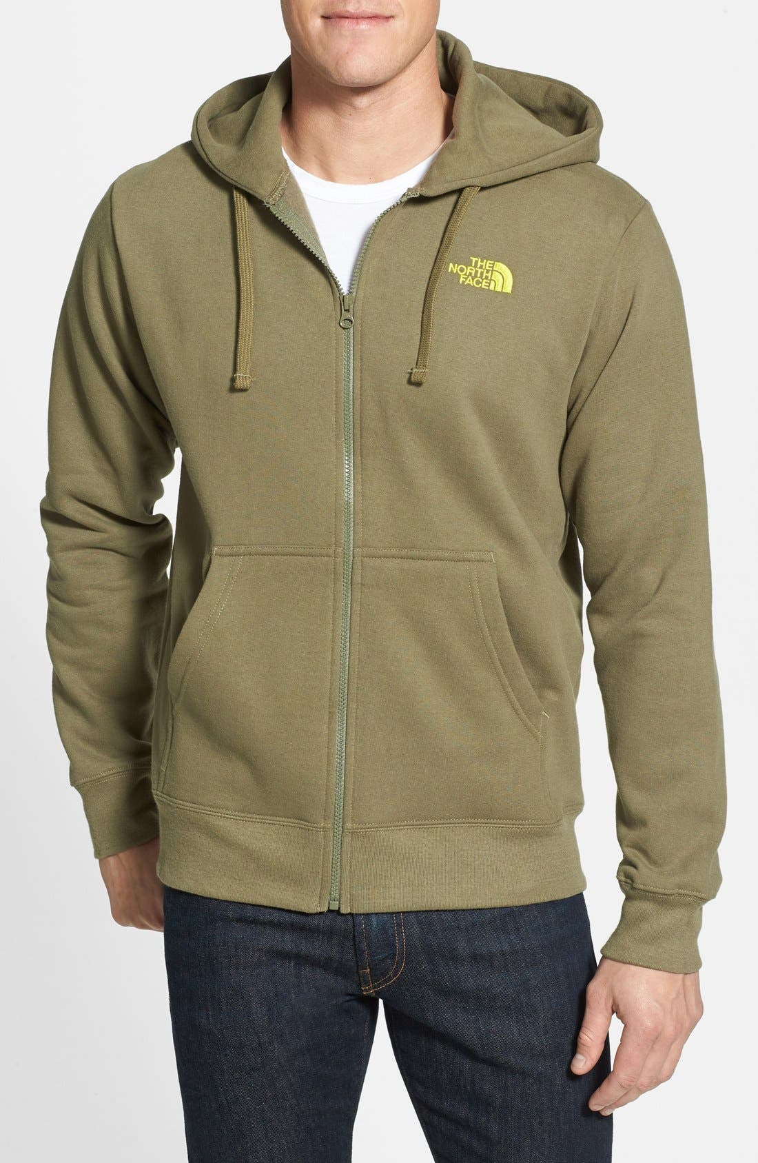 Alternate Image 1 Selected - The North Face Zip Front Hoodie