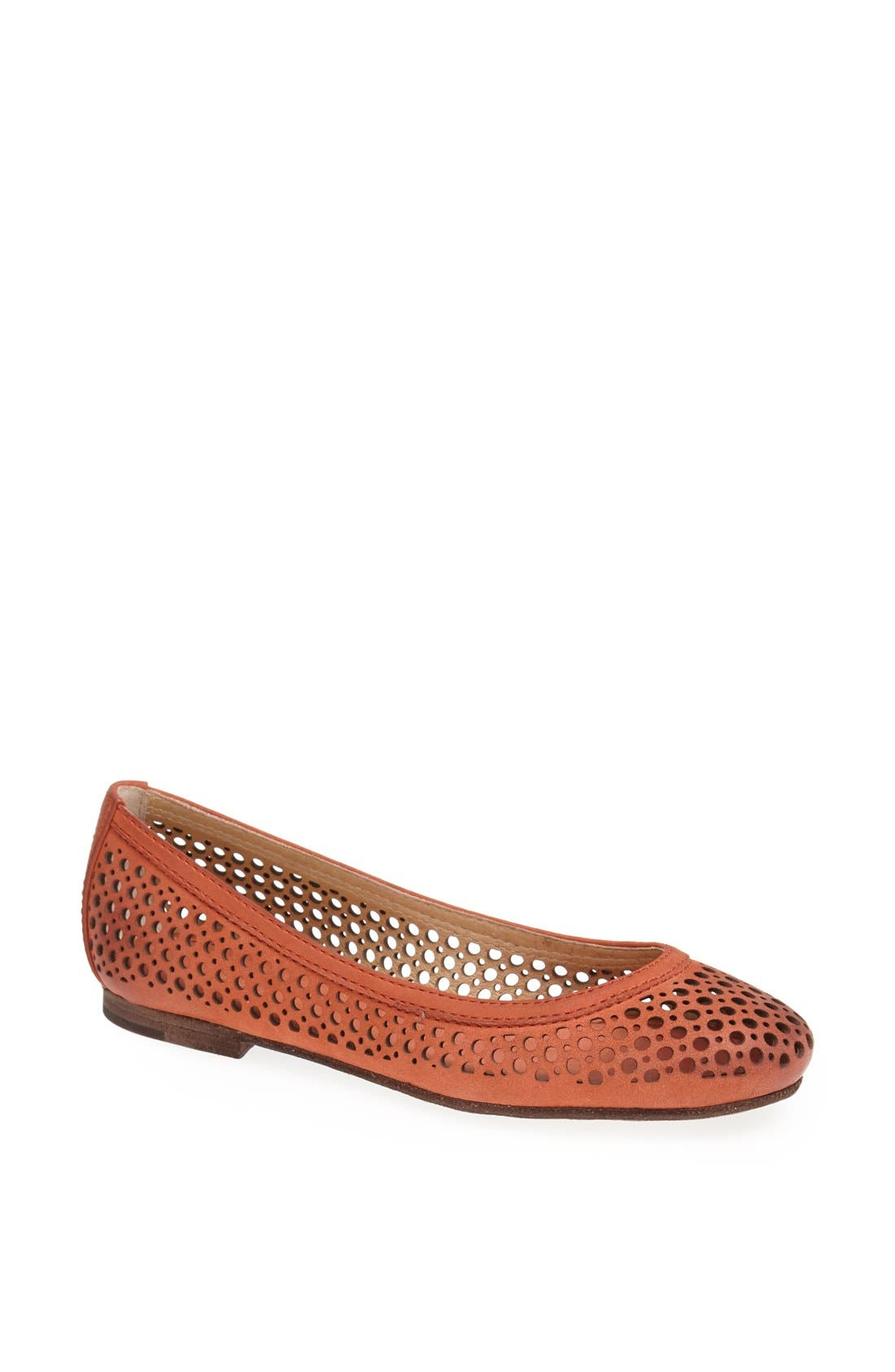 Alternate Image 1 Selected - Frye 'Carson' Perforated Leather Ballet Flat