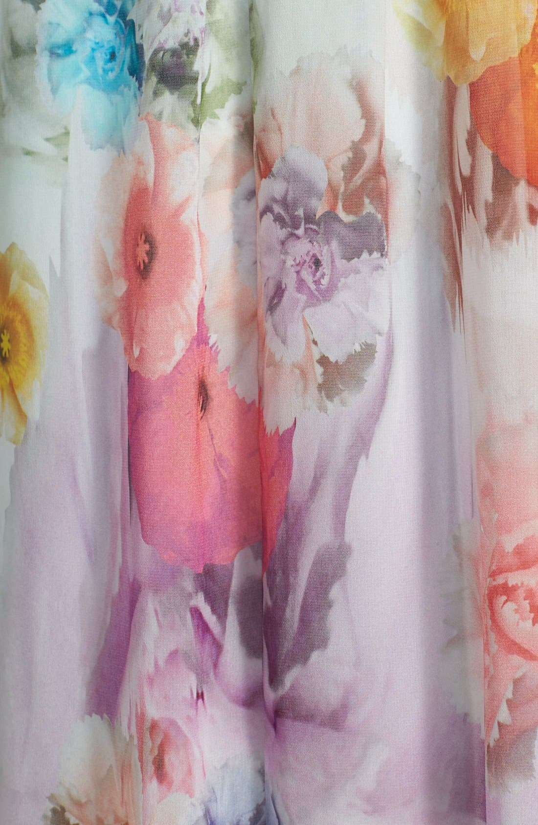 Alternate Image 3  - Ted Baker London 'Beula' Floral Print Chiffon Maxi Dress