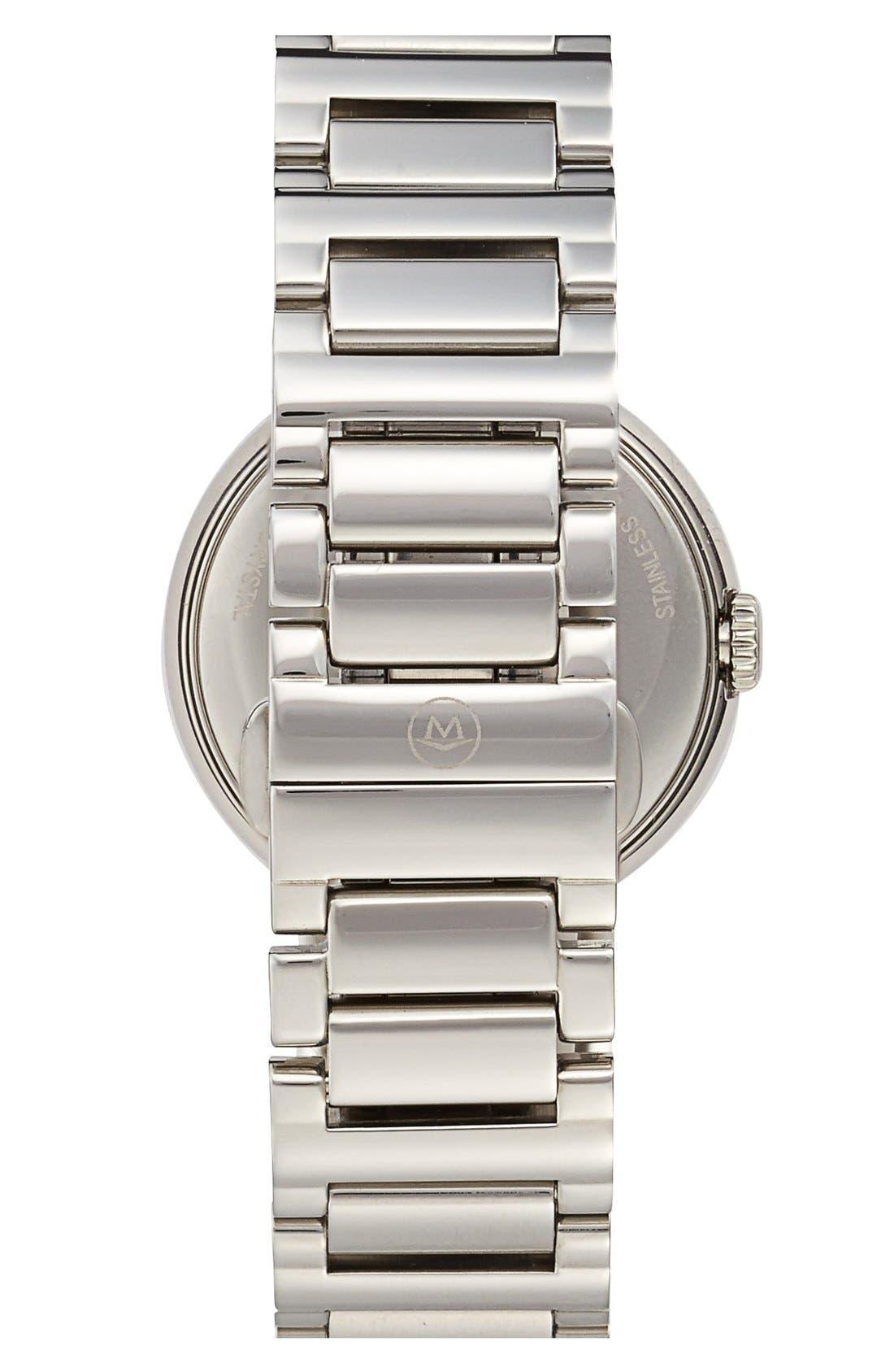 Alternate Image 2  - Movado 'Concerto' Diamond Bezel Bracelet Watch, 27mm