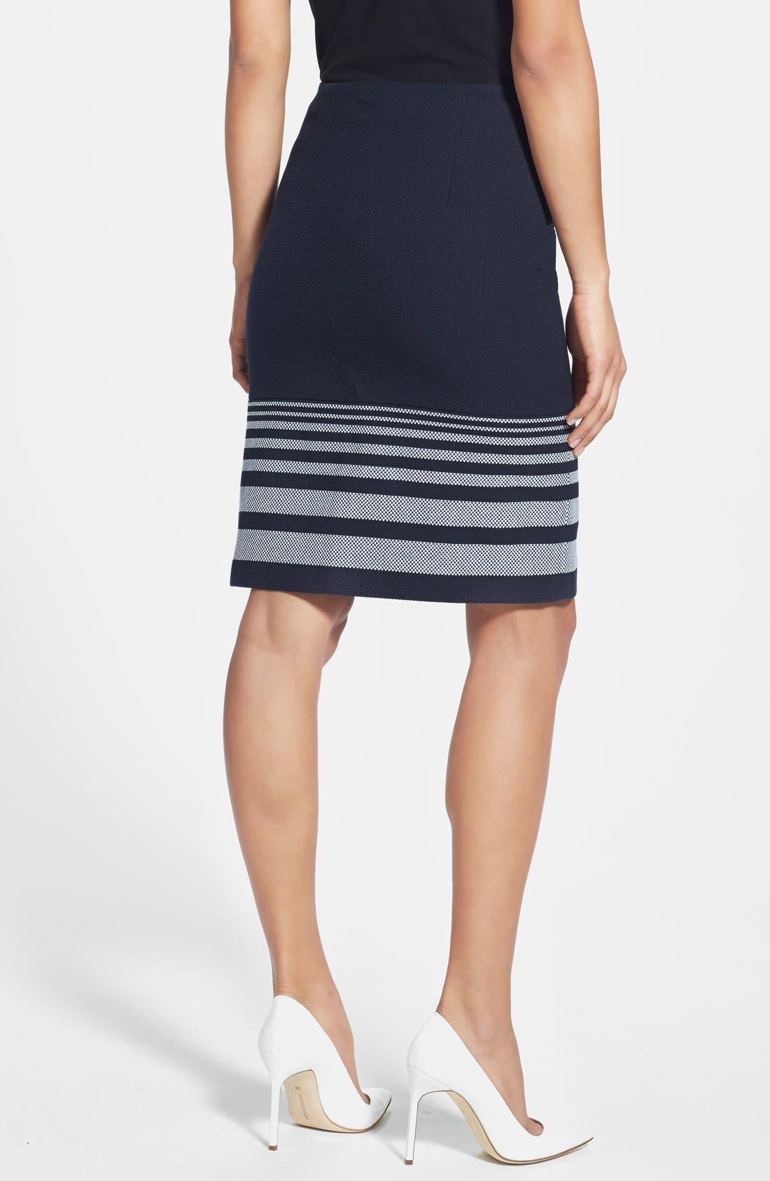 Alternate Image 2  - BOSS 'Valyn' Stripe Skirt