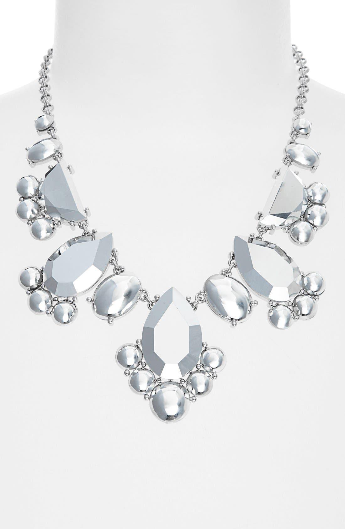 Alternate Image 2  - kate spade new york 'day tripper' metallic bib necklace