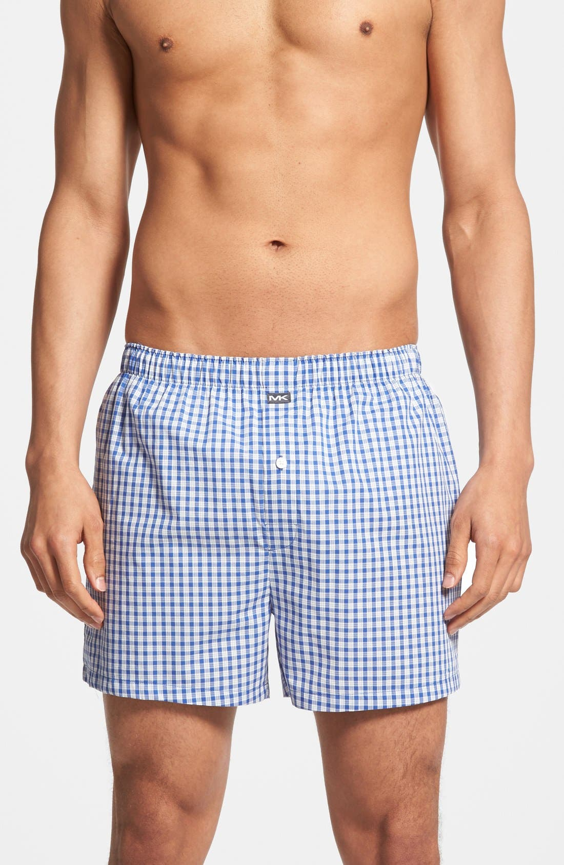 Alternate Image 1 Selected - Michael Kors Cotton Boxers (Assorted 2-Pack)