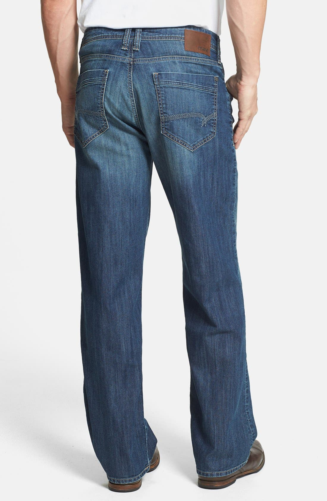 Alternate Image 2  - Mavi Jeans 'Max' Relaxed Fit Jeans (Mid Railtown) (Online Only)