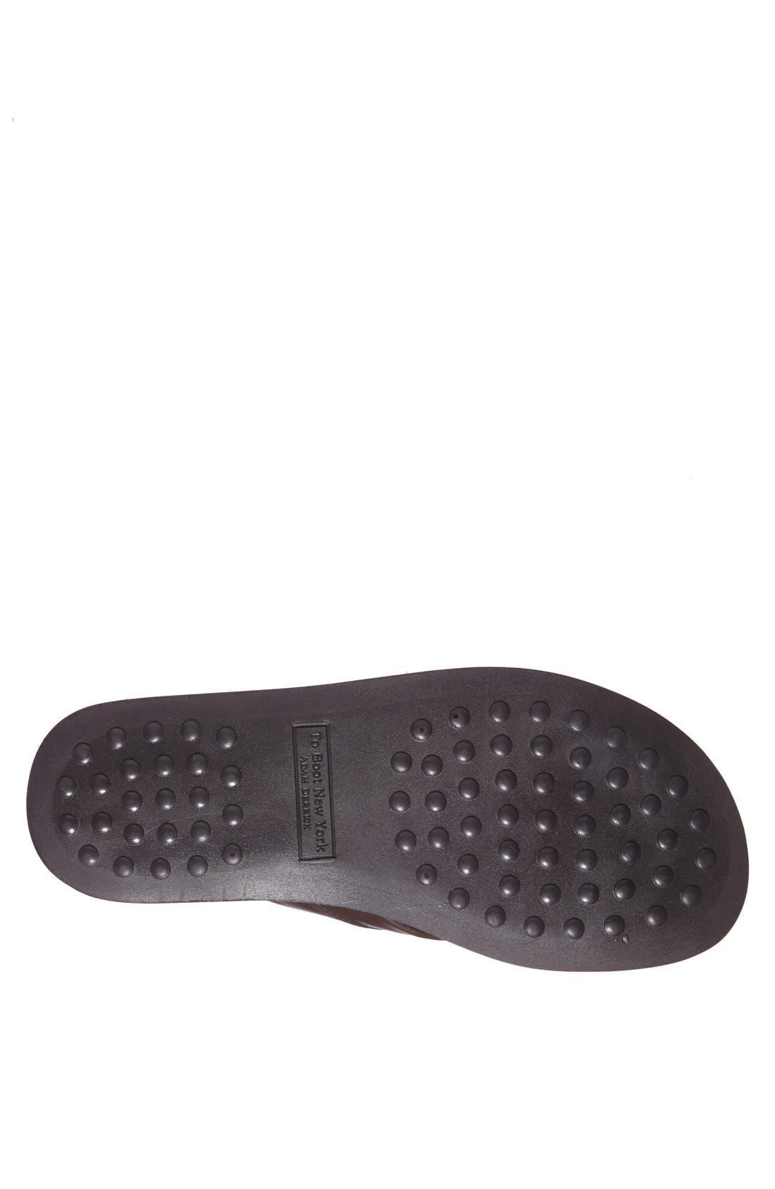 Alternate Image 4  - To Boot New York 'La Hoya' Leather Flip Flop