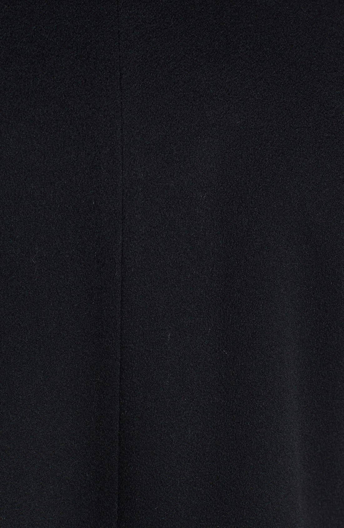 Alternate Image 3  - Fleurette Stand Collar Cashmere Coat