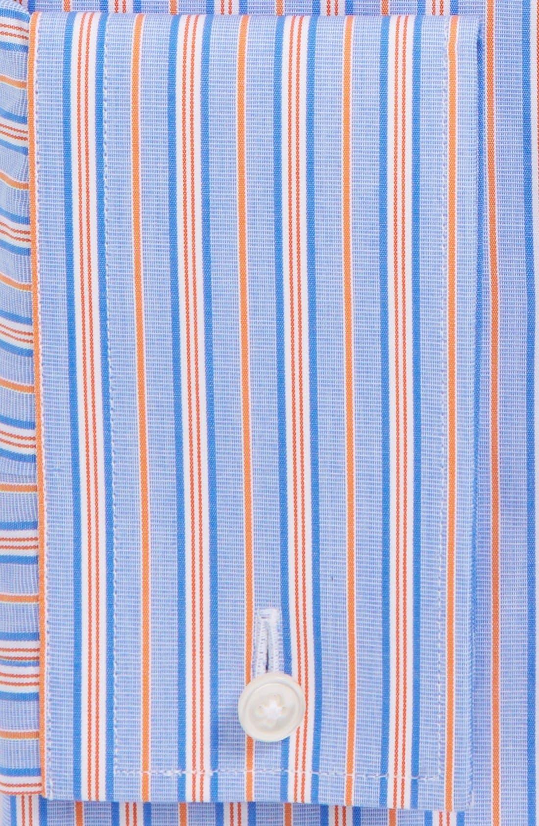 Alternate Image 2  - BOSS HUGO BOSS 'Maison' Sharp Fit French Cuff Stripe Dress Shirt