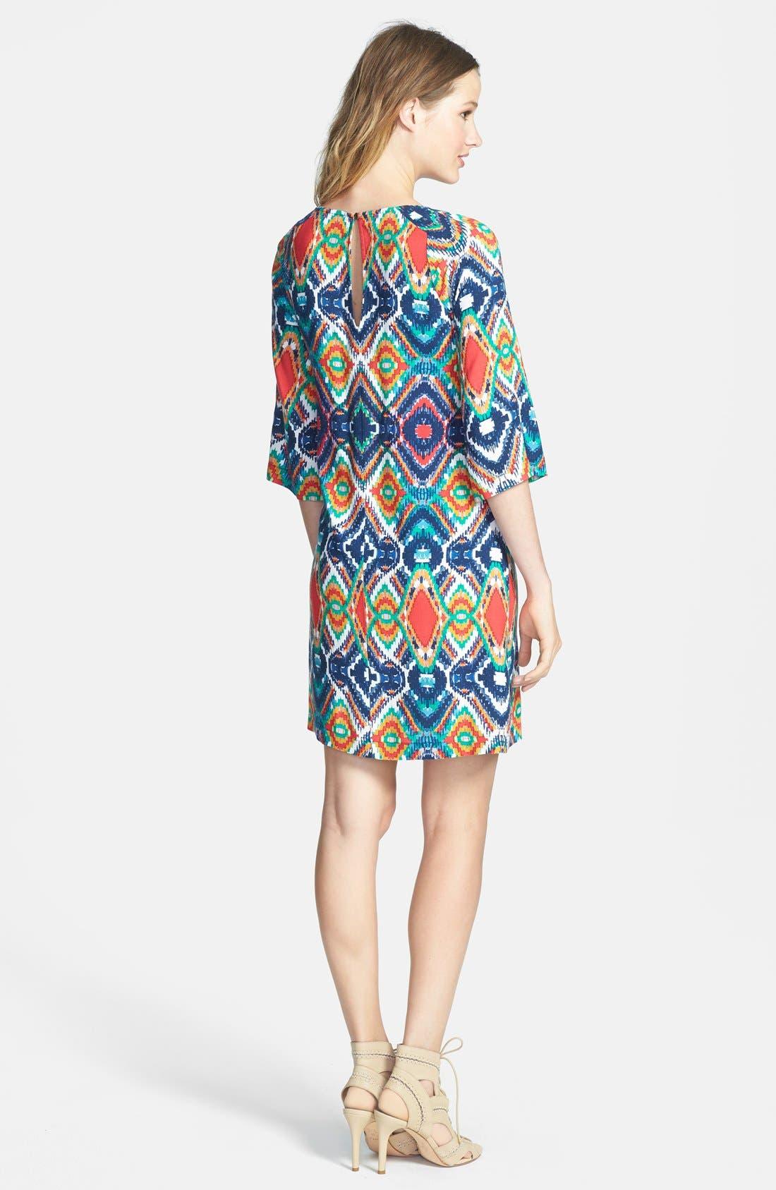 Alternate Image 2  - Ella Moss 'Totem' Geo Print Shift Dress