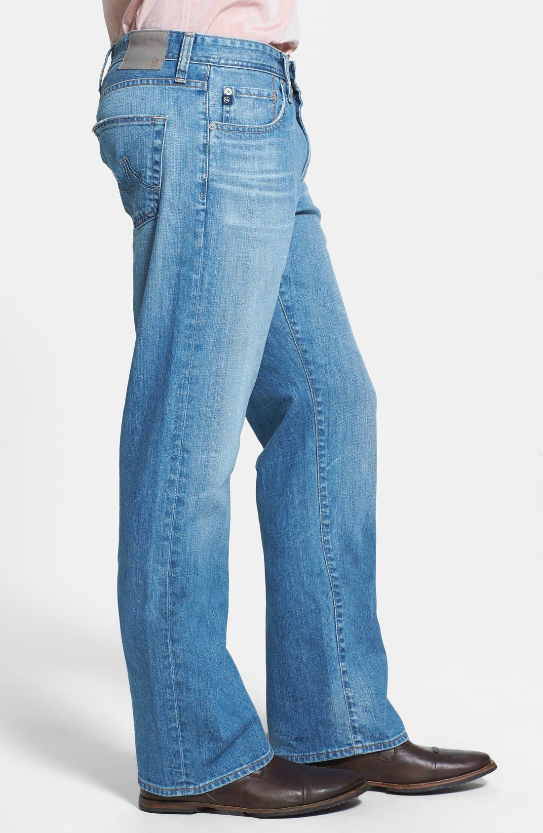Alternate Image 3  - AG 'Hero' Relaxed Fit Jeans (Max) (Online Only)