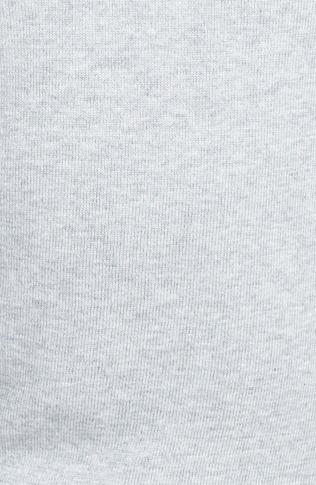 Alternate Image 3  - Halogen® 'Bien' Shoulder Zip Intarsia Sweater (Regular & Petite)