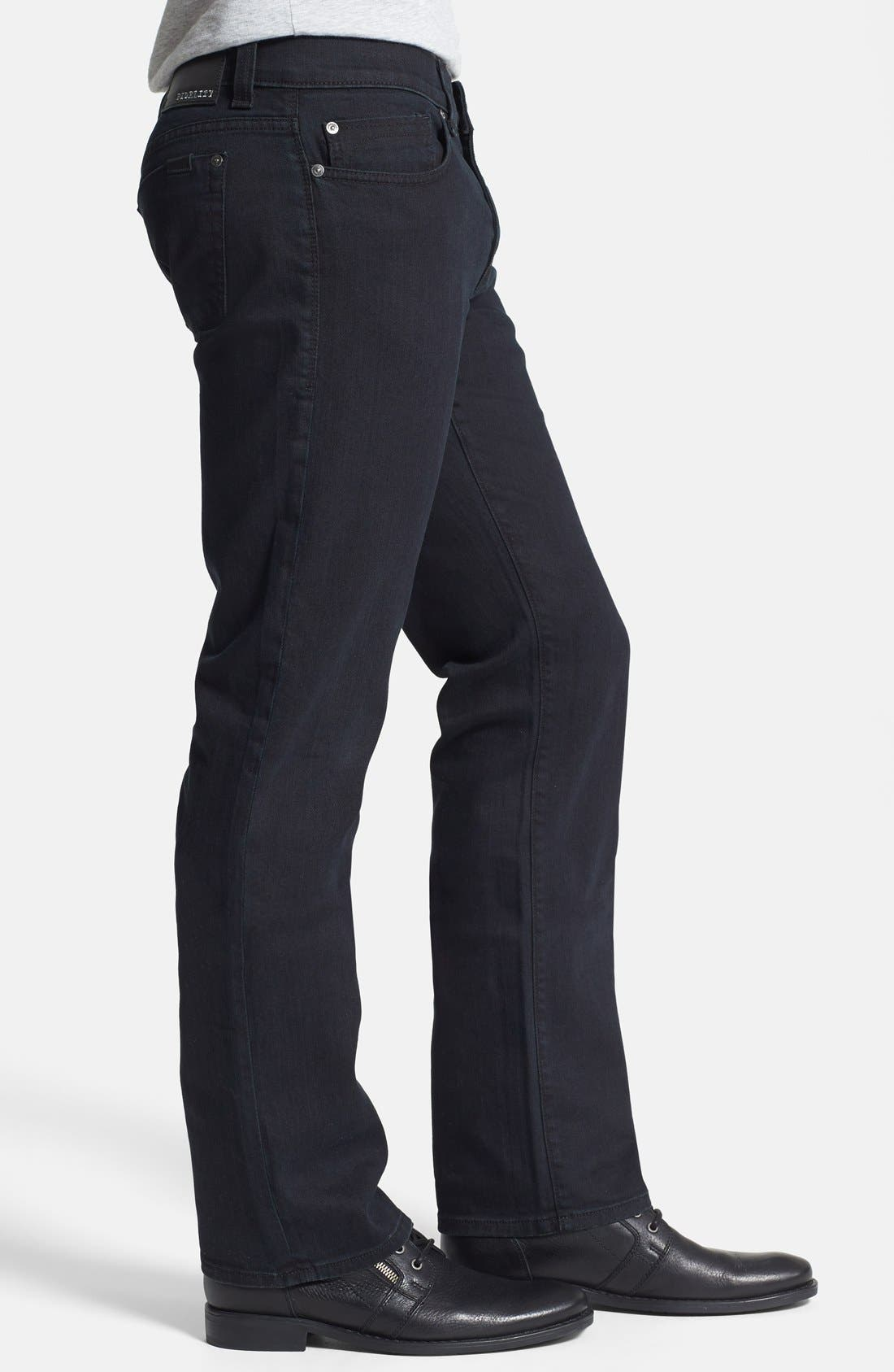 Alternate Image 3  - Fidelity Denim '50-11' Straight Leg Jeans (Town Black Vintage)