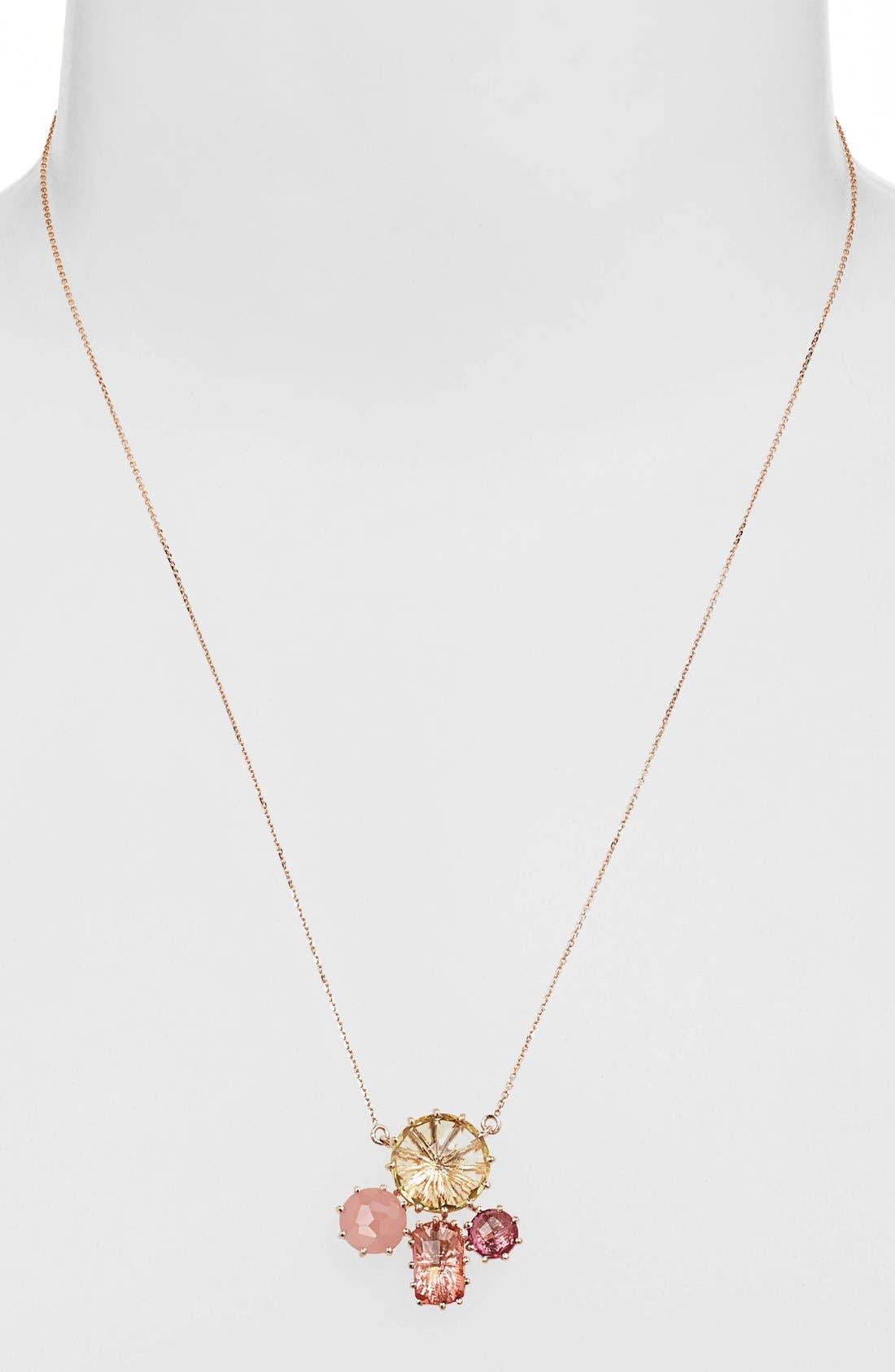 Alternate Image 2  - KALAN by Suzanne Kalan Stone Cluster Pendant Necklace
