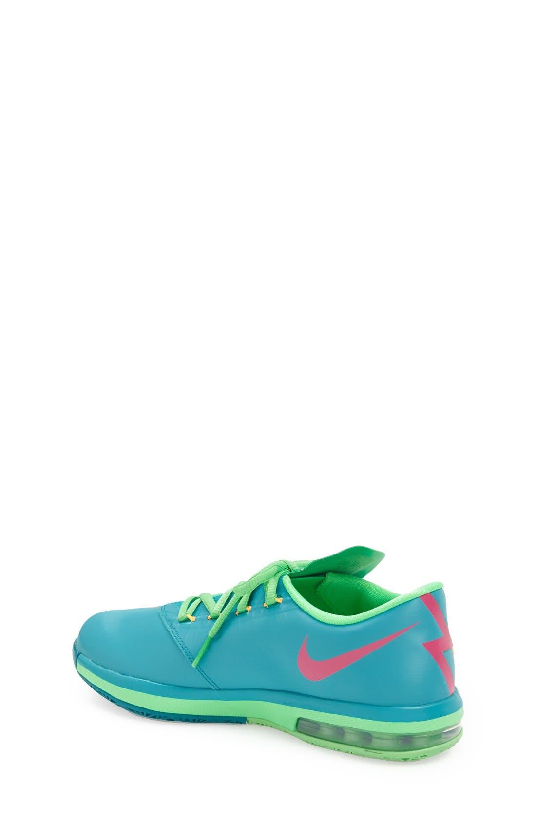 Alternate Image 2  - Nike 'KD VI' Basketball Shoe (Big Kid)