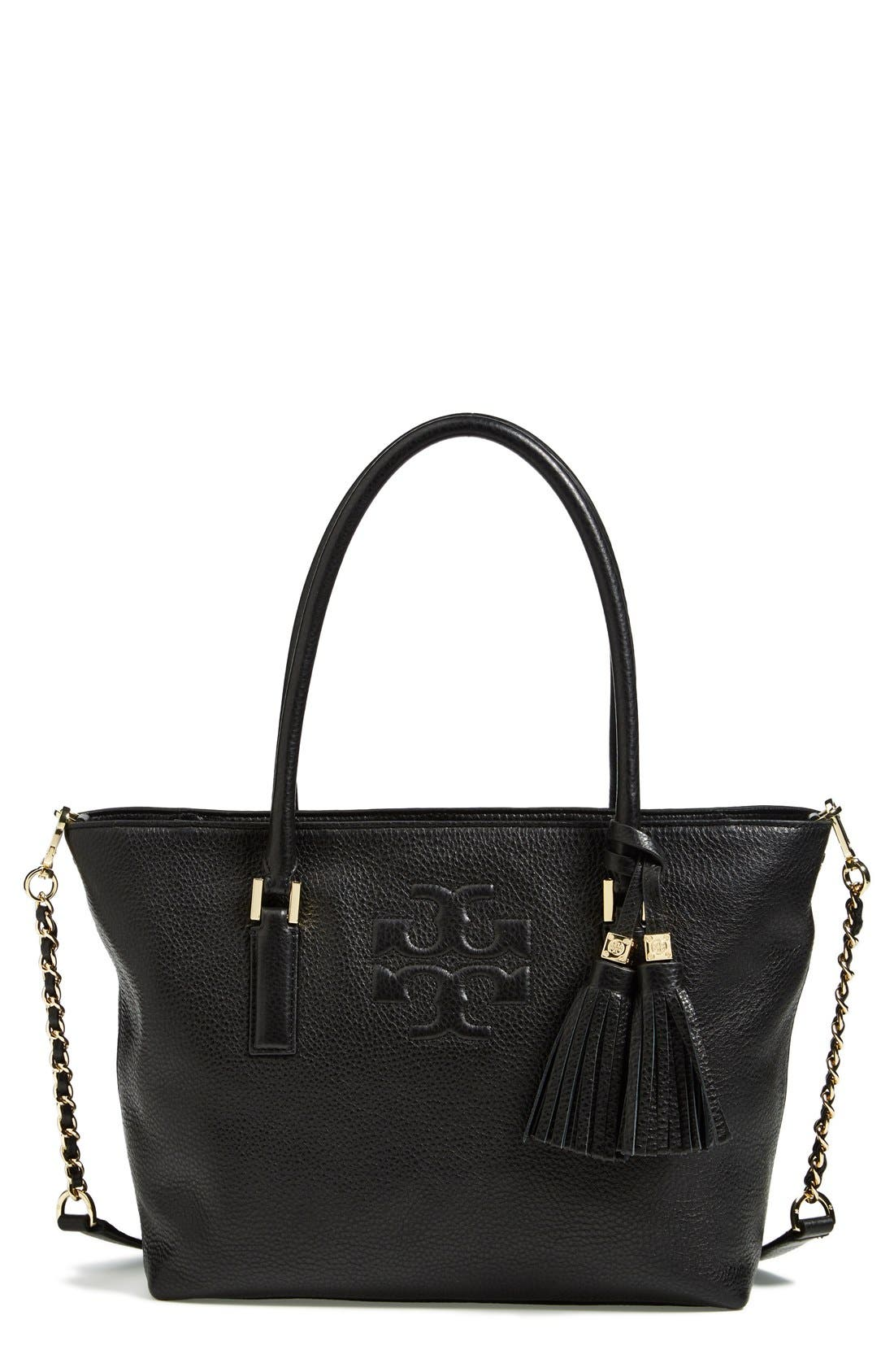 Alternate Image 1 Selected - Tory Burch 'Small Thea' Convertible Tote