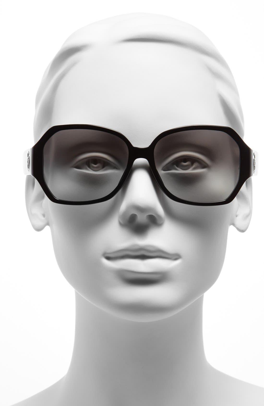 Alternate Image 2  - COACH 58mm Retro Sunglasses