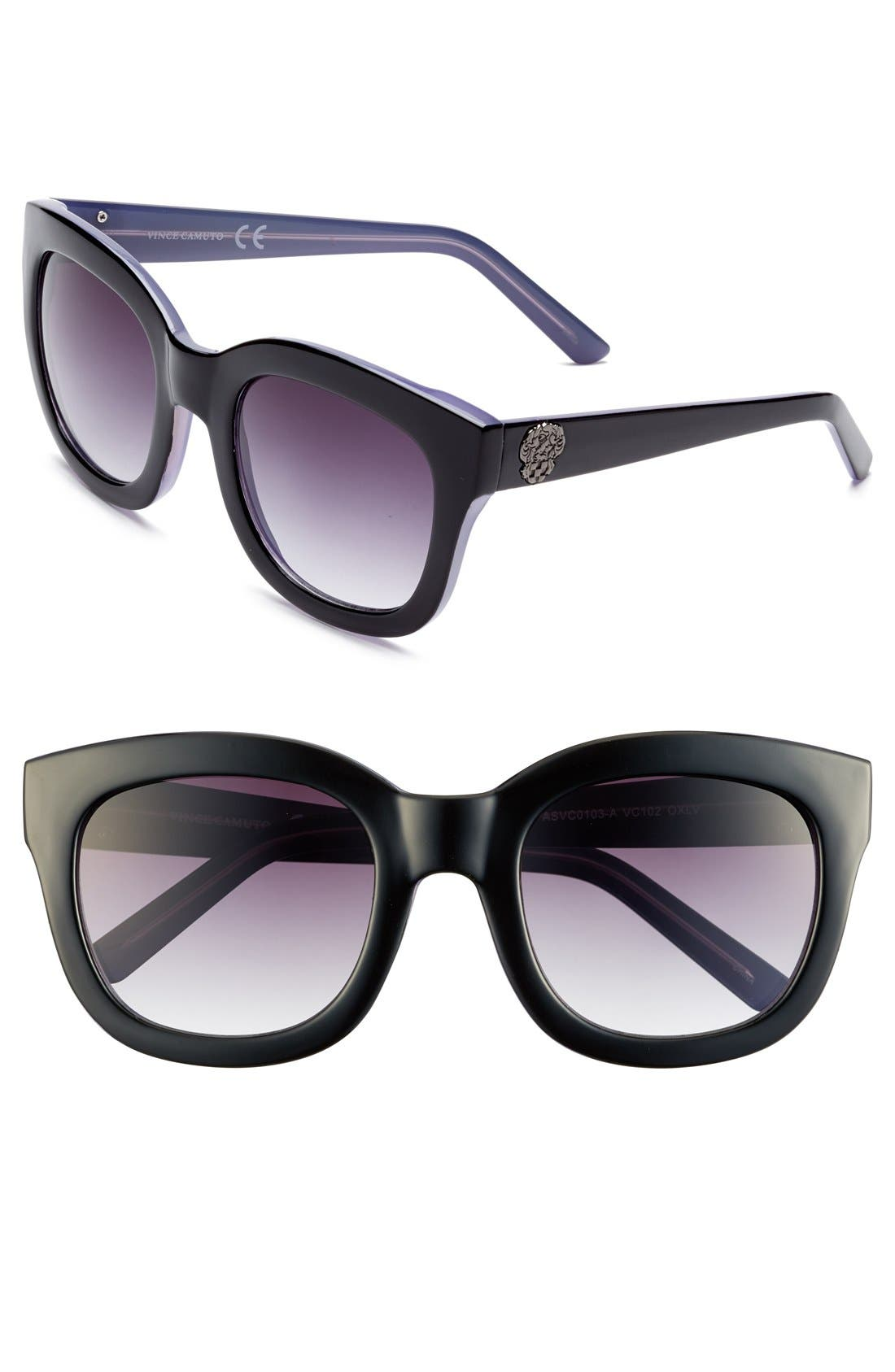 Alternate Image 1 Selected - Vince Camuto 54mm Oversized Cat Eye Sunglasses (Online Only)