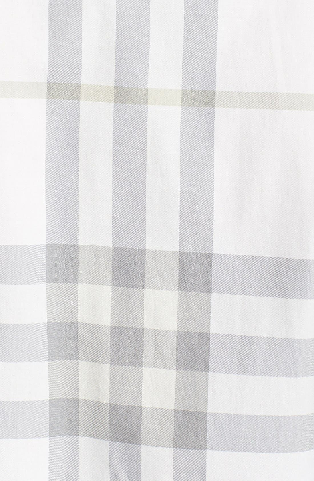 Alternate Image 3  - Burberry Brit 'Niall' Check Trim Fit Cotton Sport Shirt