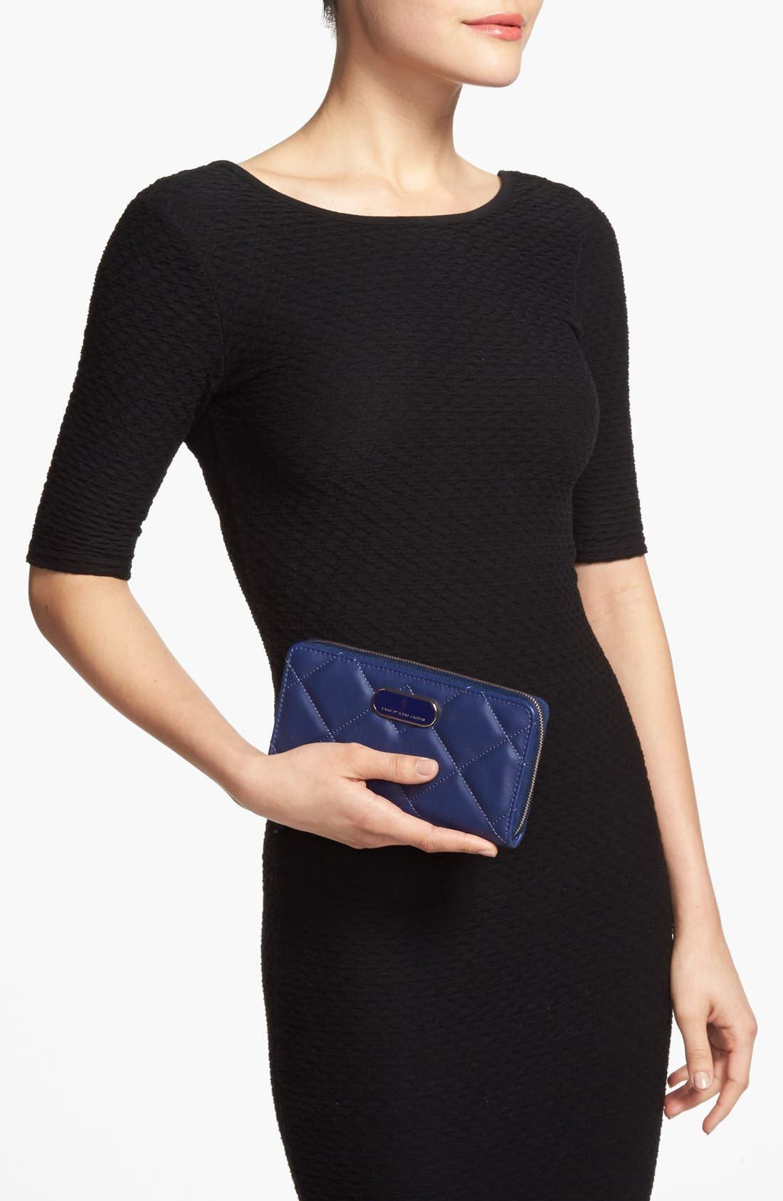 Alternate Image 4  - MARC BY MARC JACOBS 'Quilty Vertical Zippy' Leather Wallet