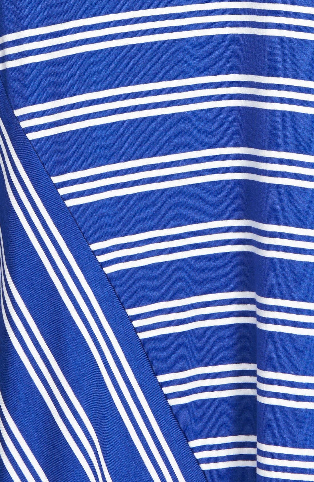 Alternate Image 3  - kensie Stripe Stretch Knit Maxi Skirt