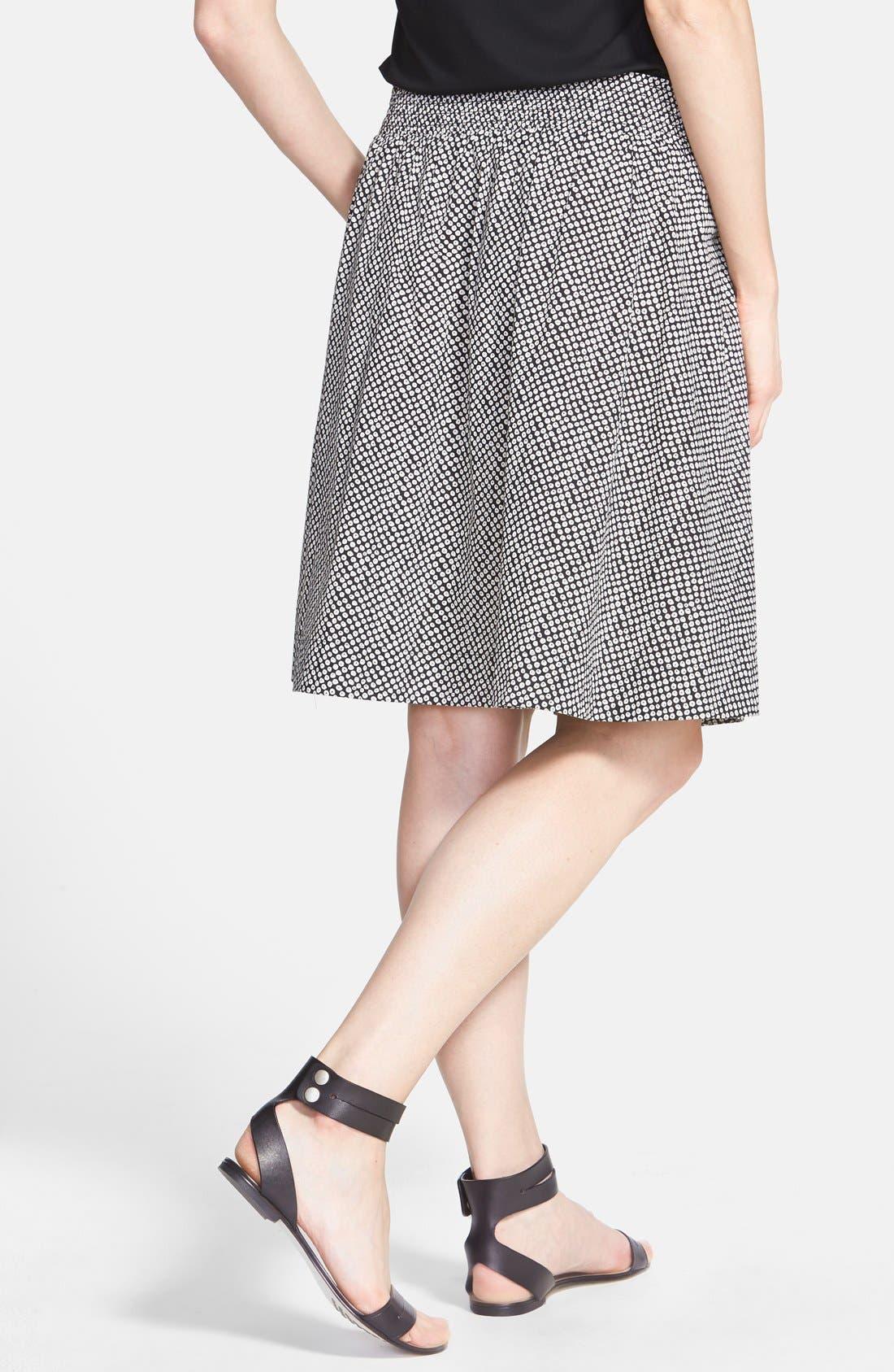Alternate Image 2  - Eileen Fisher Bandhini Print Organic Cotton Skirt