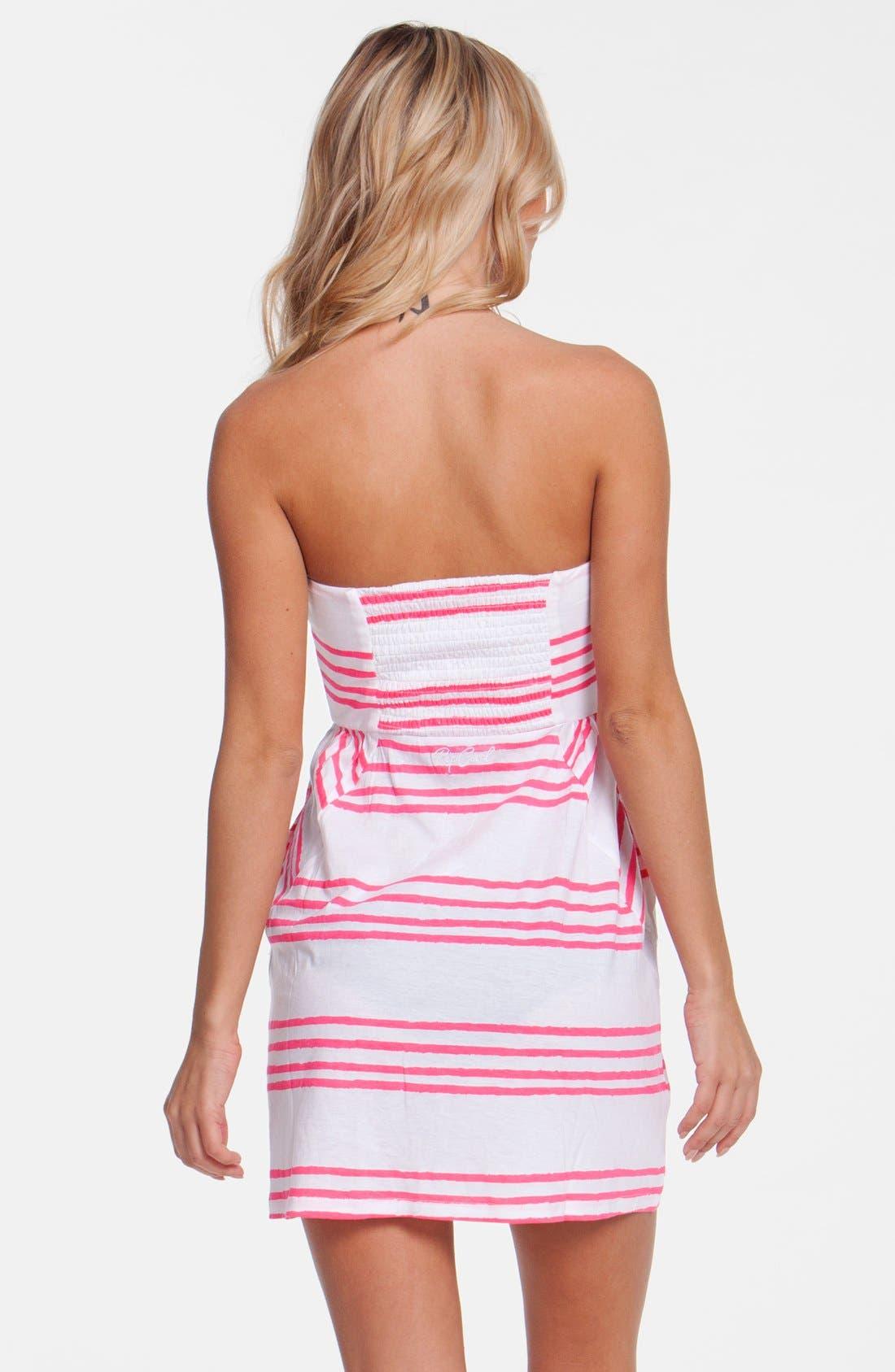 Alternate Image 2  - Rip Curl 'Shifting Stripes' Strapless Body-Con Dress (Juniors)