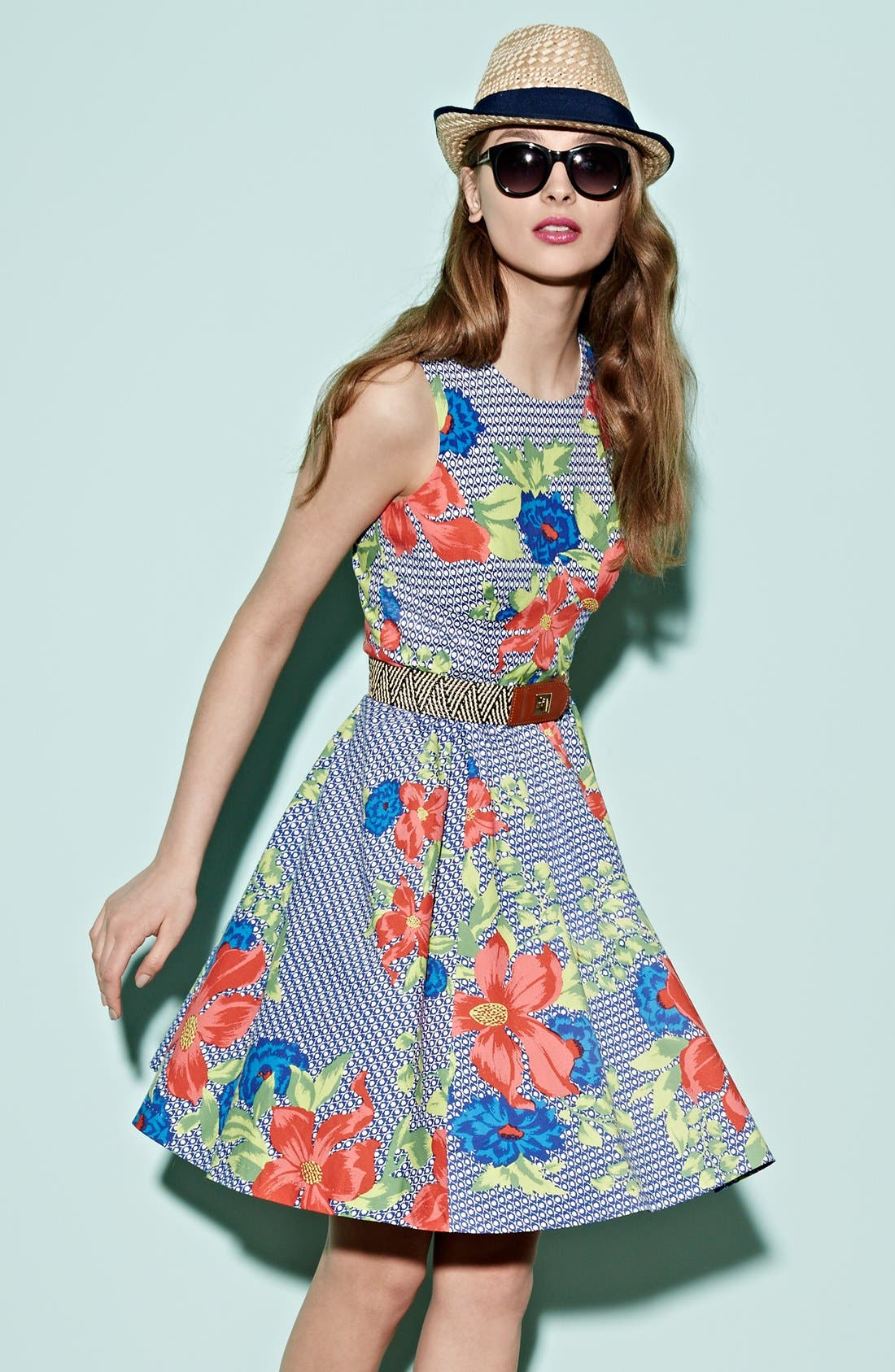 Alternate Image 5  - Plenty by Tracy Reese 'Alana' Print Fit & Flare Dress