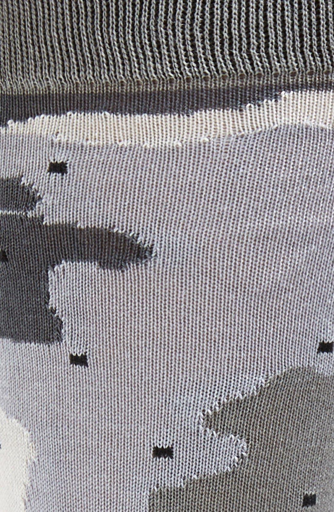 Alternate Image 2  - Mr. Gray 'Camo Dot' Socks