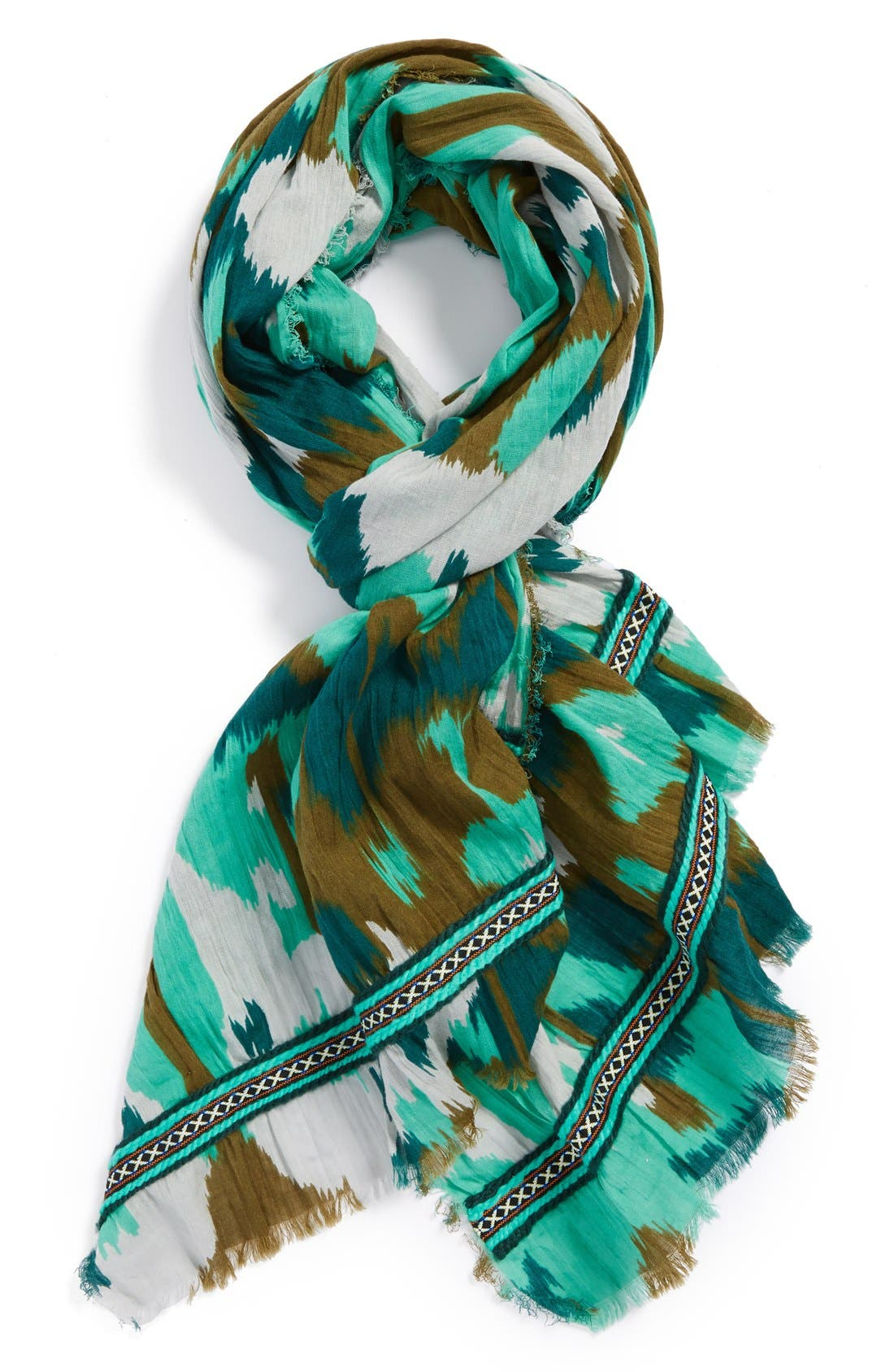 Alternate Image 1 Selected - Hinge® 'Ikat Patchwork' Scarf