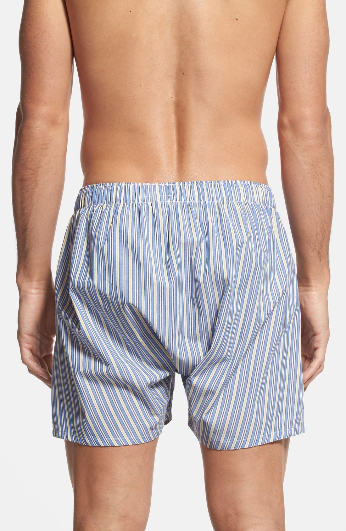 Alternate Image 2  - Polo Ralph Lauren 3-Pack Woven Cotton Boxers