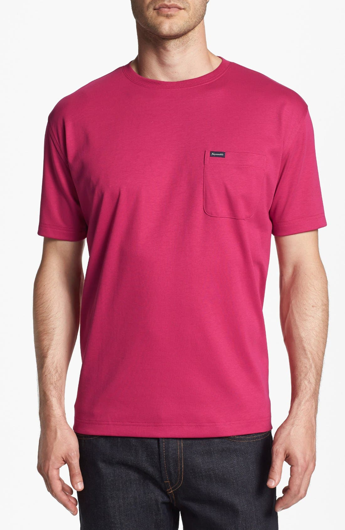 Main Image - Façonnable Crewneck T-Shirt