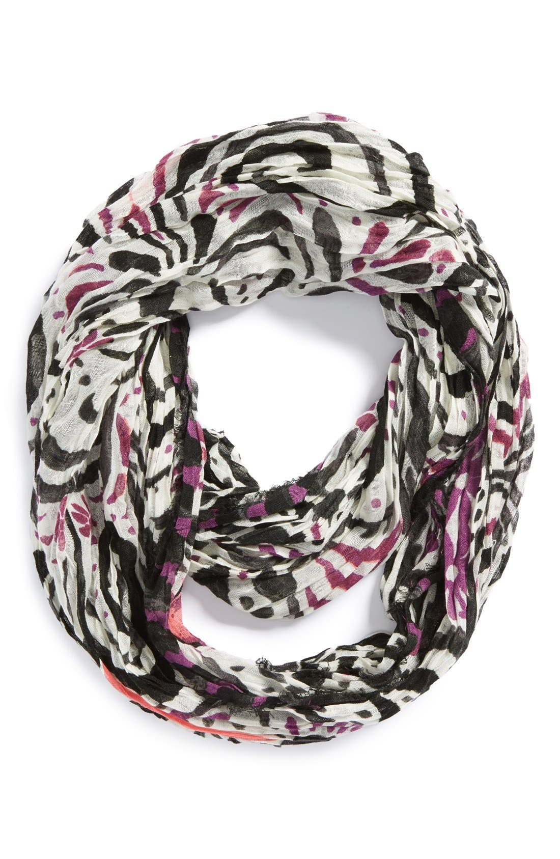 Alternate Image 1 Selected - Tarnish 'Tapestry Geo' Infinity Scarf