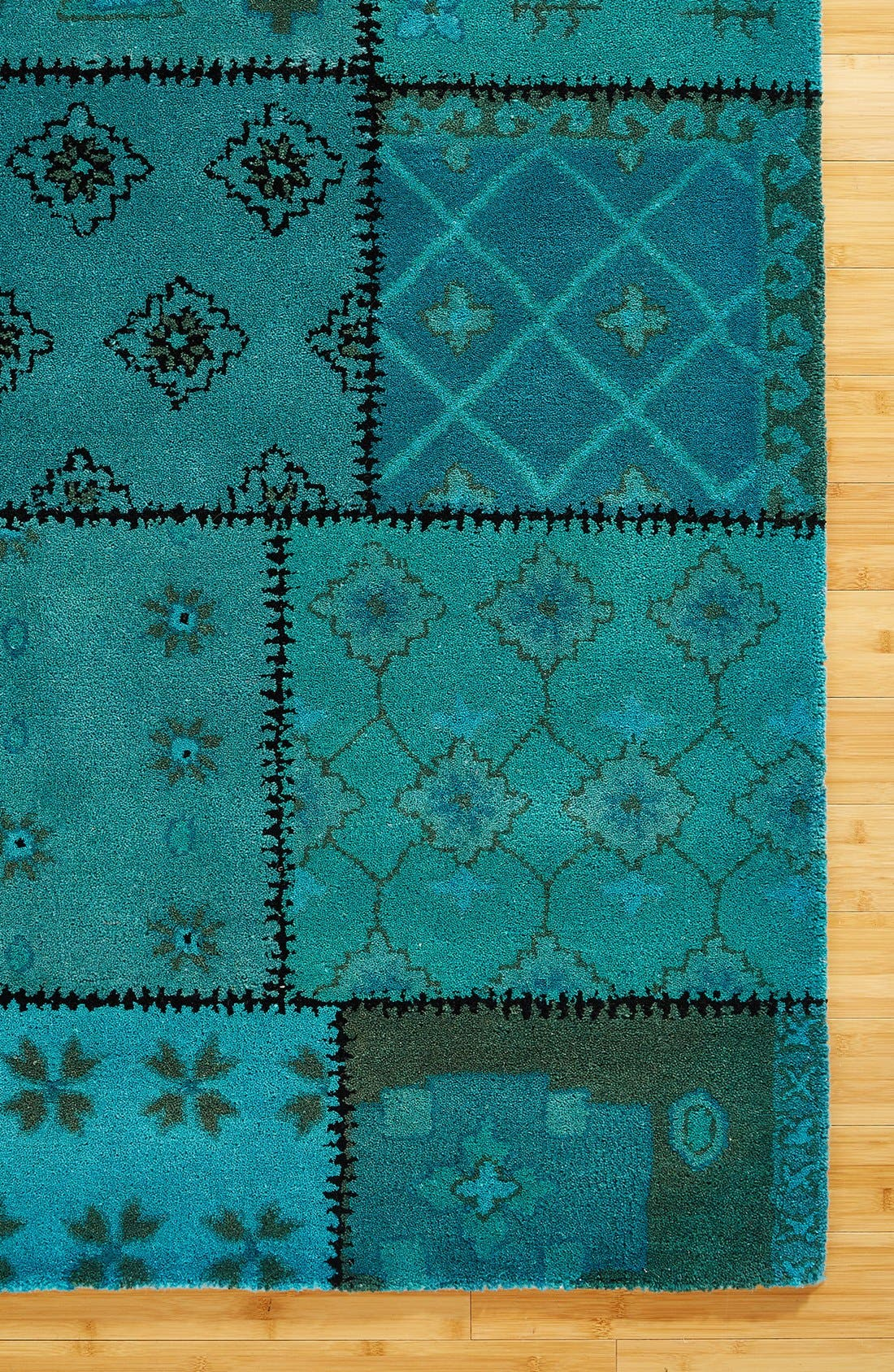 Alternate Image 2  - Rizzy Home Hand Tufted Wool Area Rug