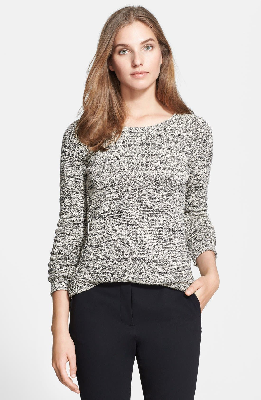 Alternate Image 1 Selected - Halston Heritage Marled Sweater