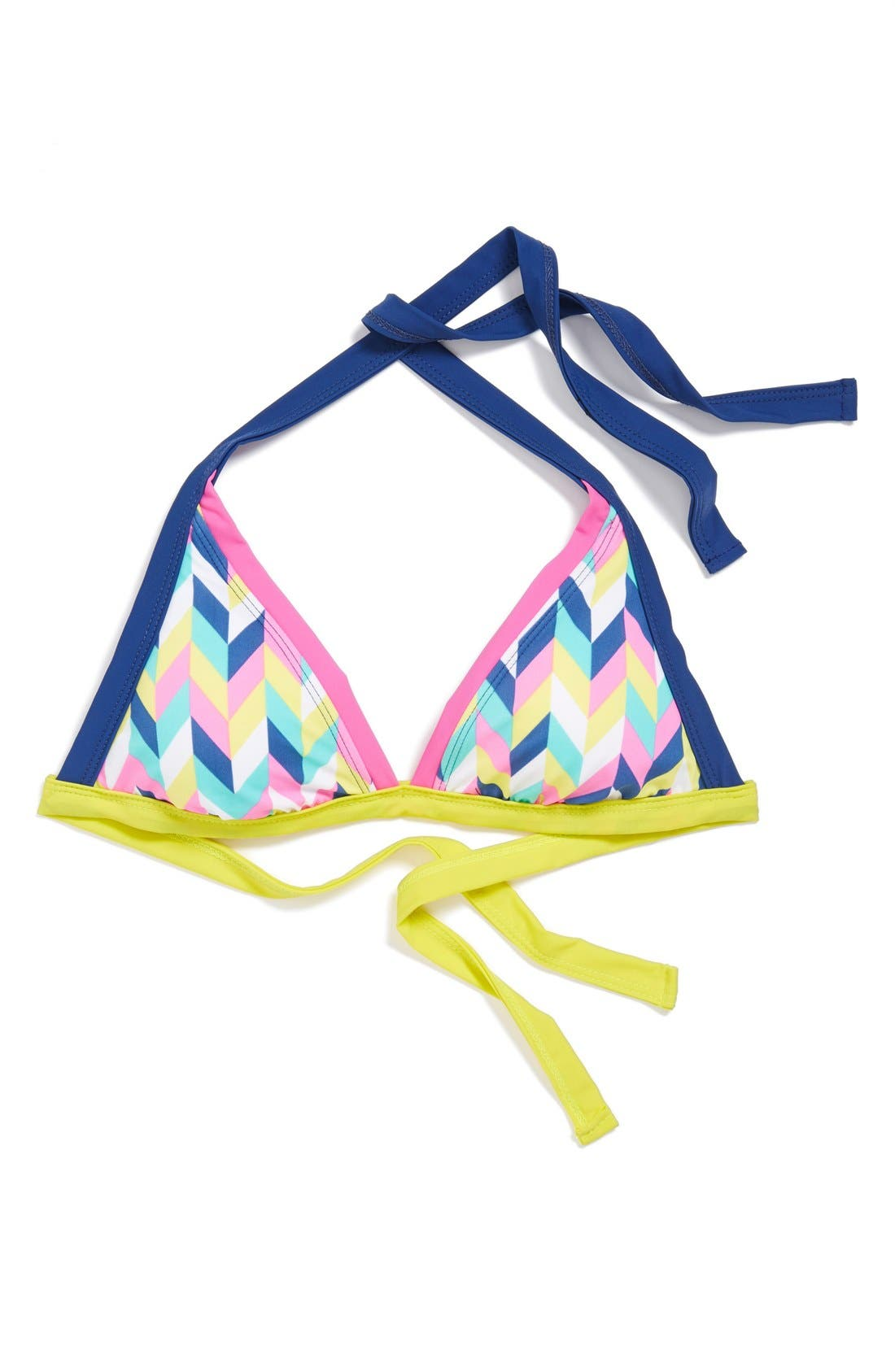 Alternate Image 6  - BCA Chevron Triangle Bikini Top
