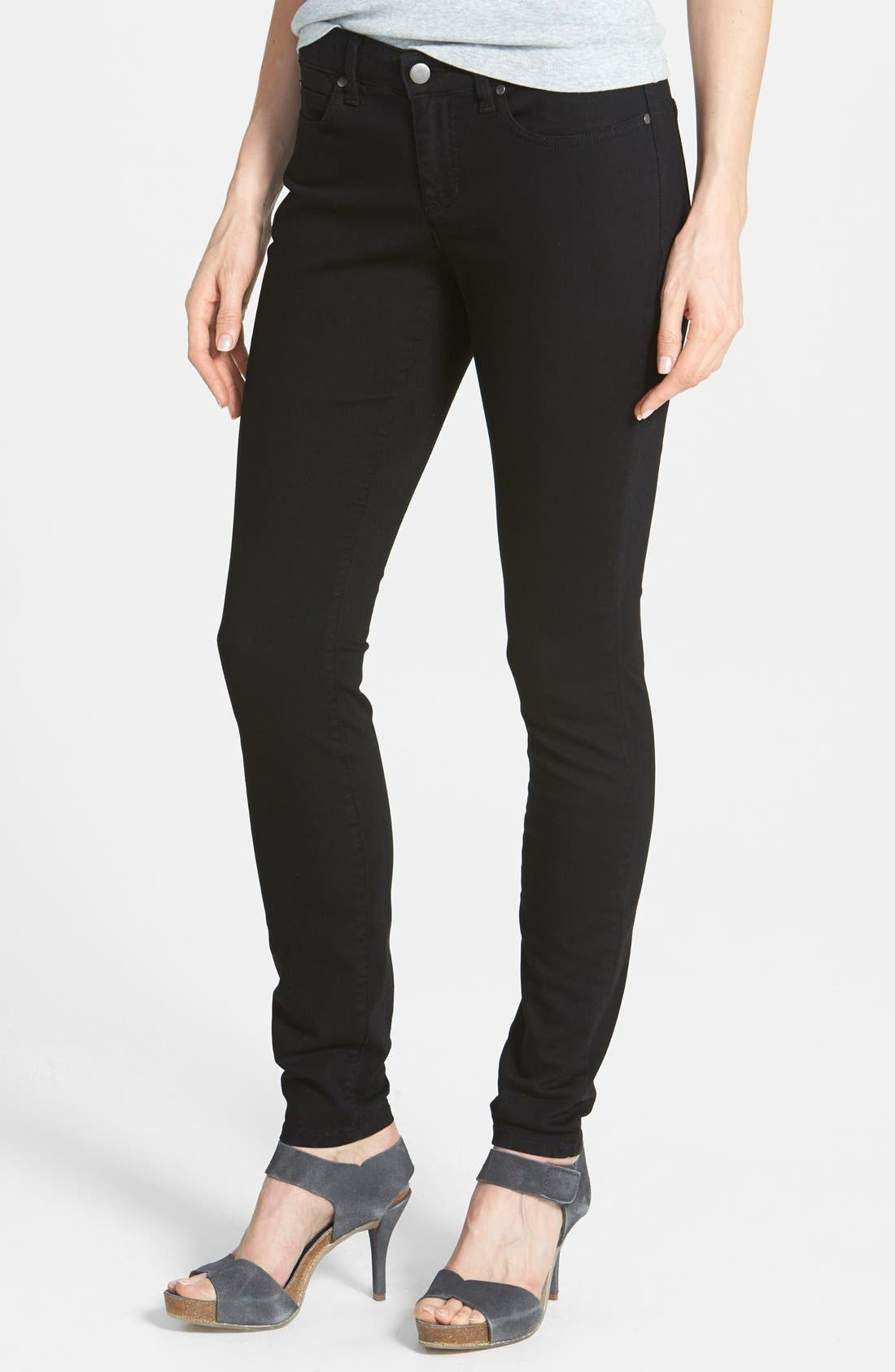 Alternate Image 1 Selected - Eileen Fisher The Fisher Project Organic Cotton Skinny Jeans