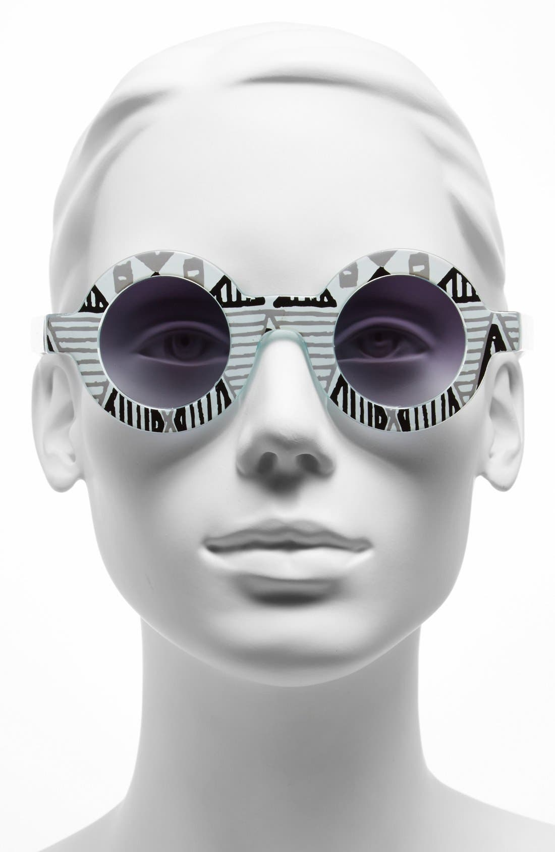 Alternate Image 2  - FE NY 39mm Round Sunglasses