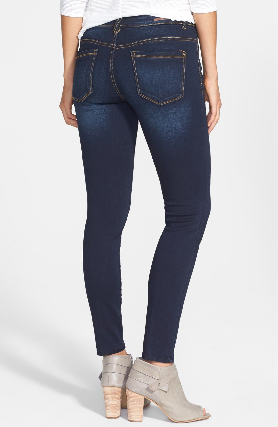 Alternate Image 2  - Jolt Stretch Skinny Jeans (Online Only)
