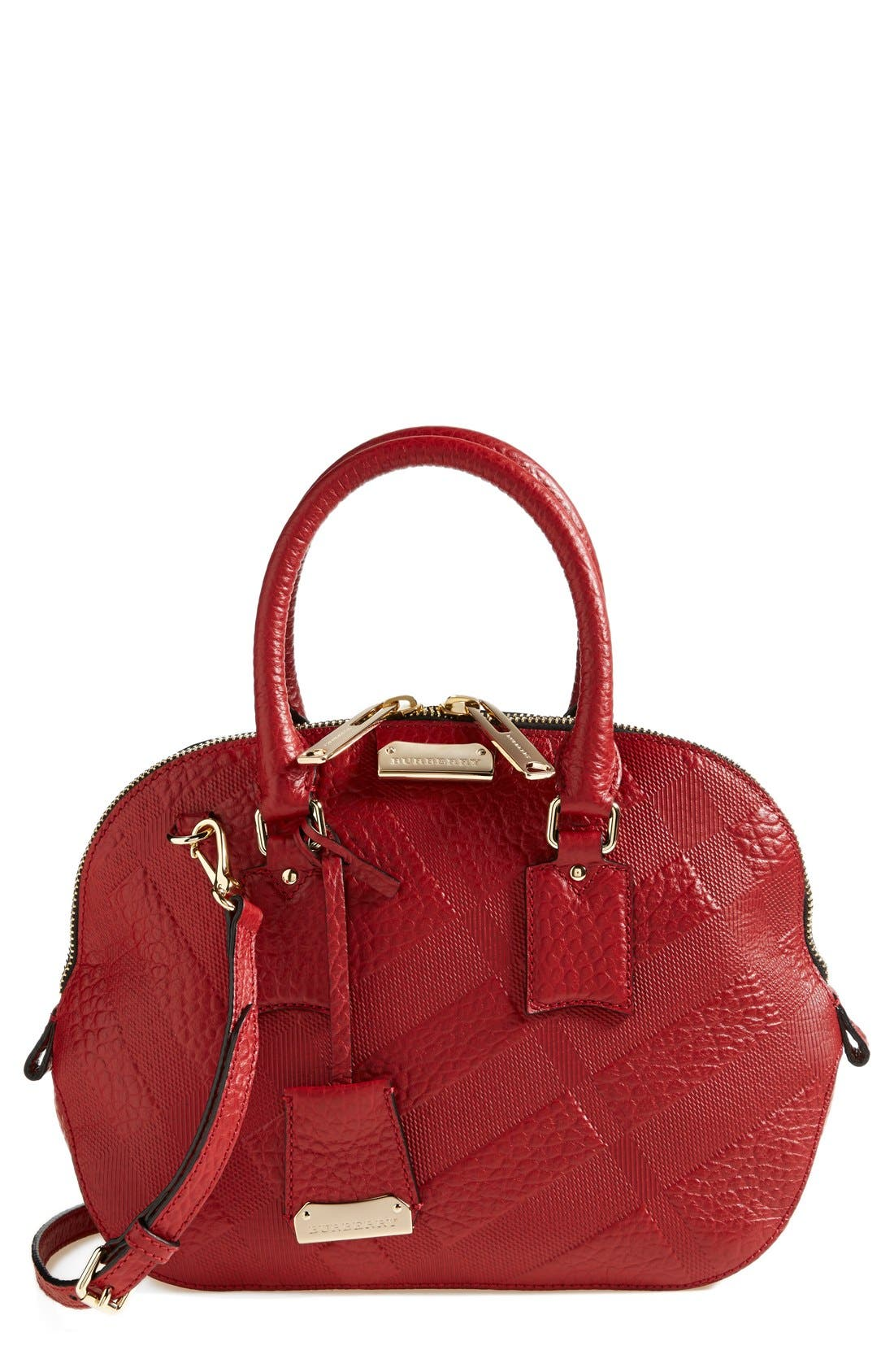 Alternate Image 1 Selected - Burberry 'Small Orchard' Leather Satchel