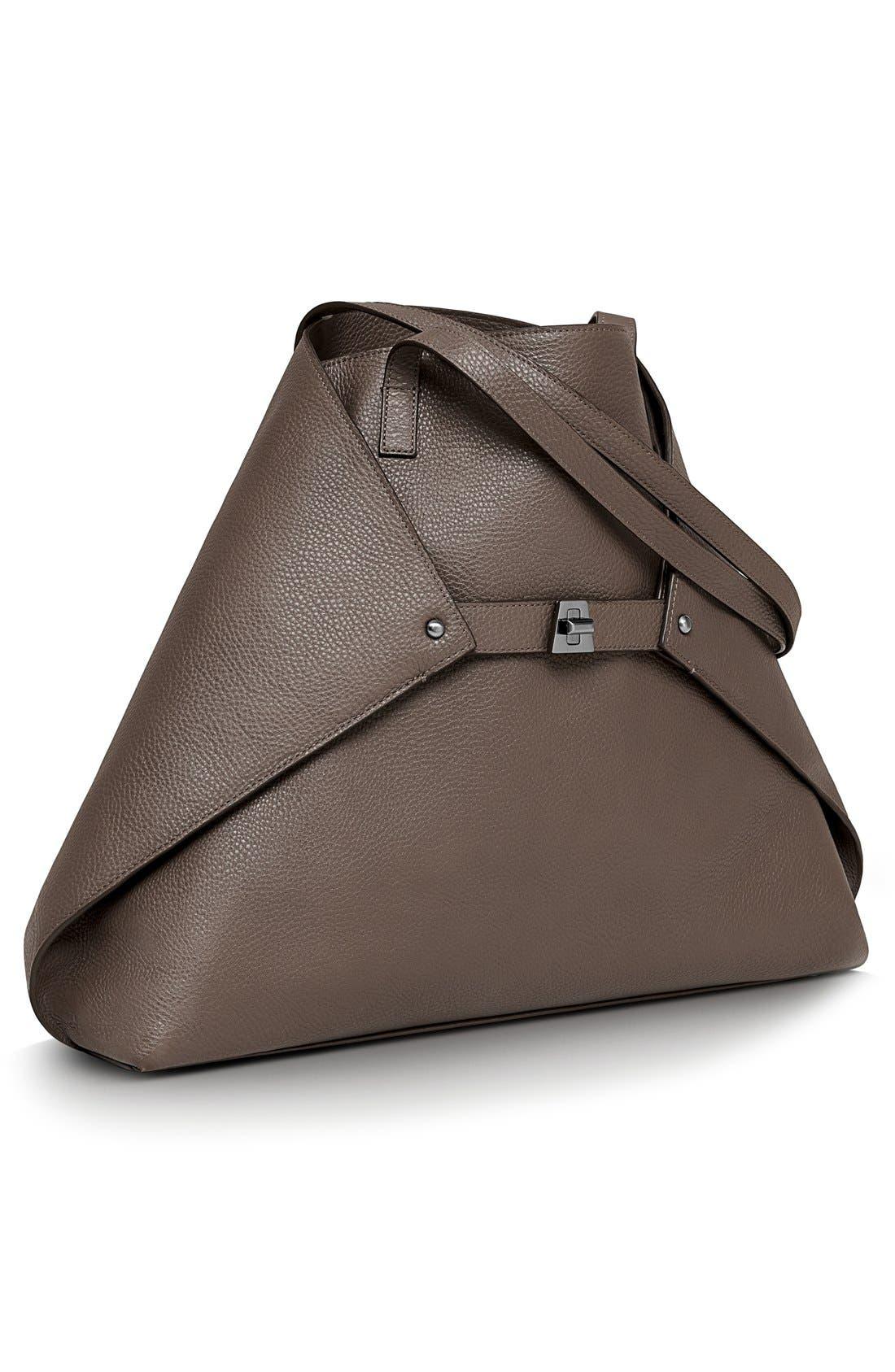 Main Image - Akris 'AI Medium Messenger' Leather Tote