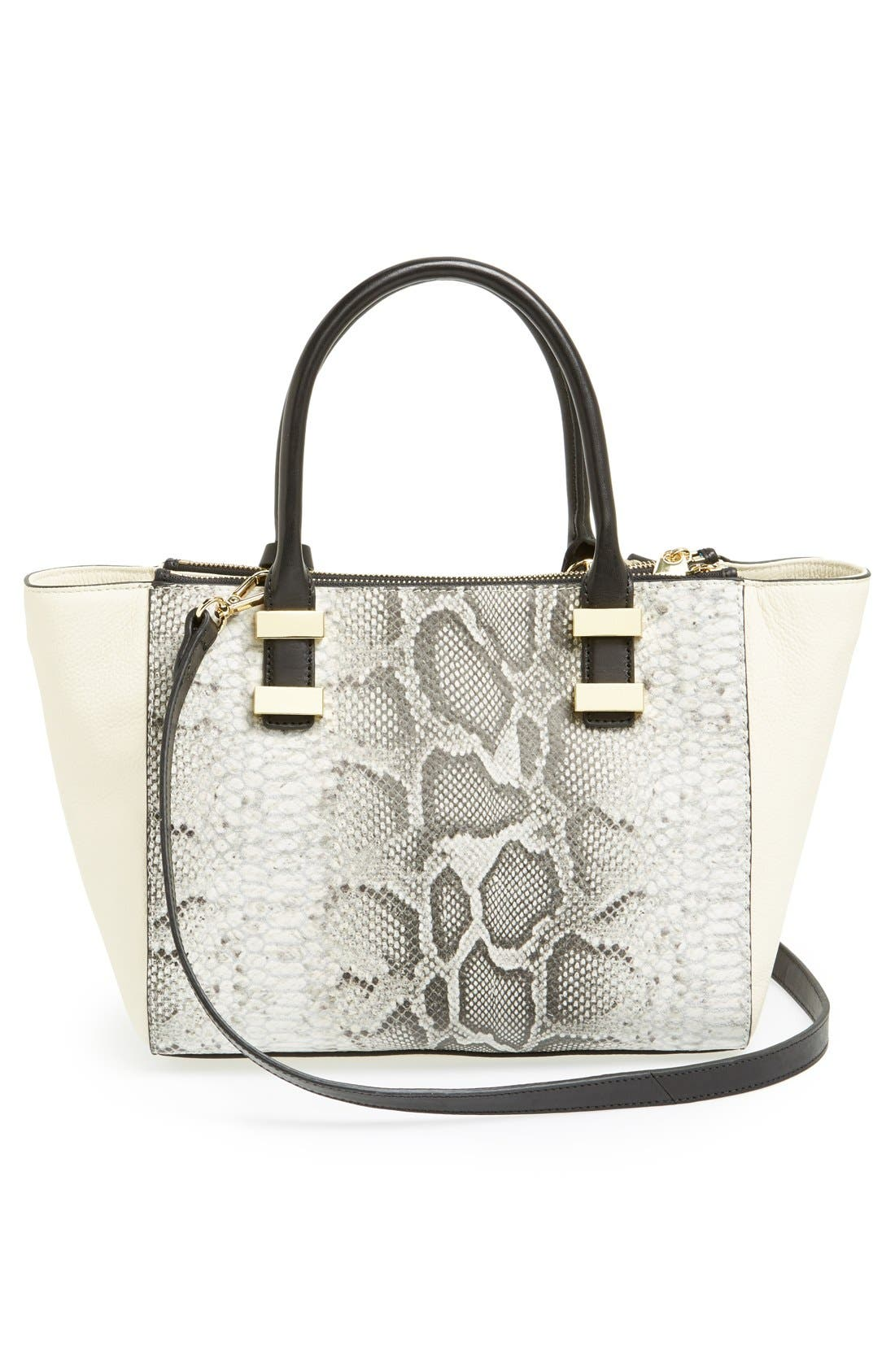 Alternate Image 4  - Vince Camuto 'Mandy' Leather Satchel