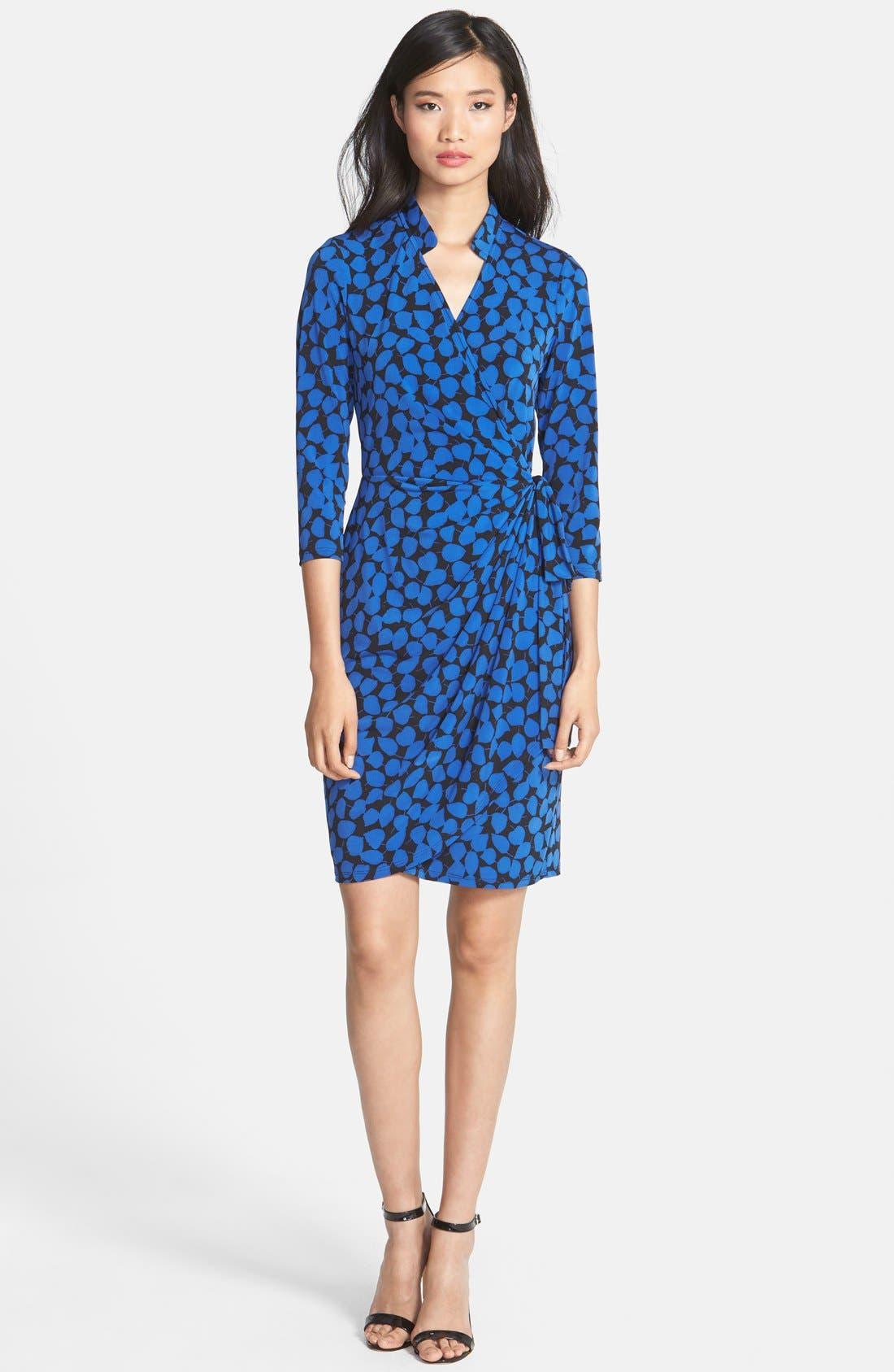 Alternate Image 3  - Maggy London Print Jersey Wrap Dress