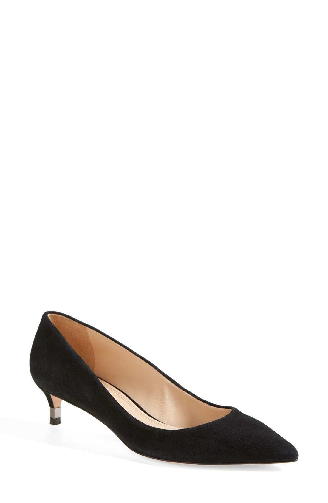 Alternate Image 1 Selected - Tory Burch 'Greenwich' Suede Pointy Toe Pump (Women)