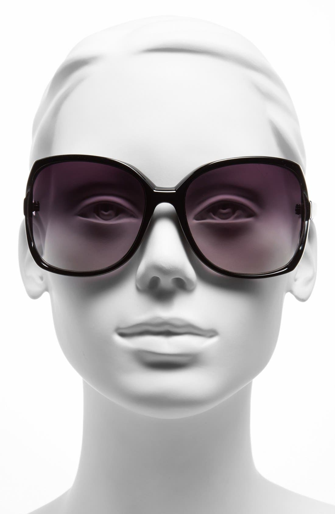 Alternate Image 2  - Icon Eyewear 62mm Butterfly Sunglasses (Juniors)