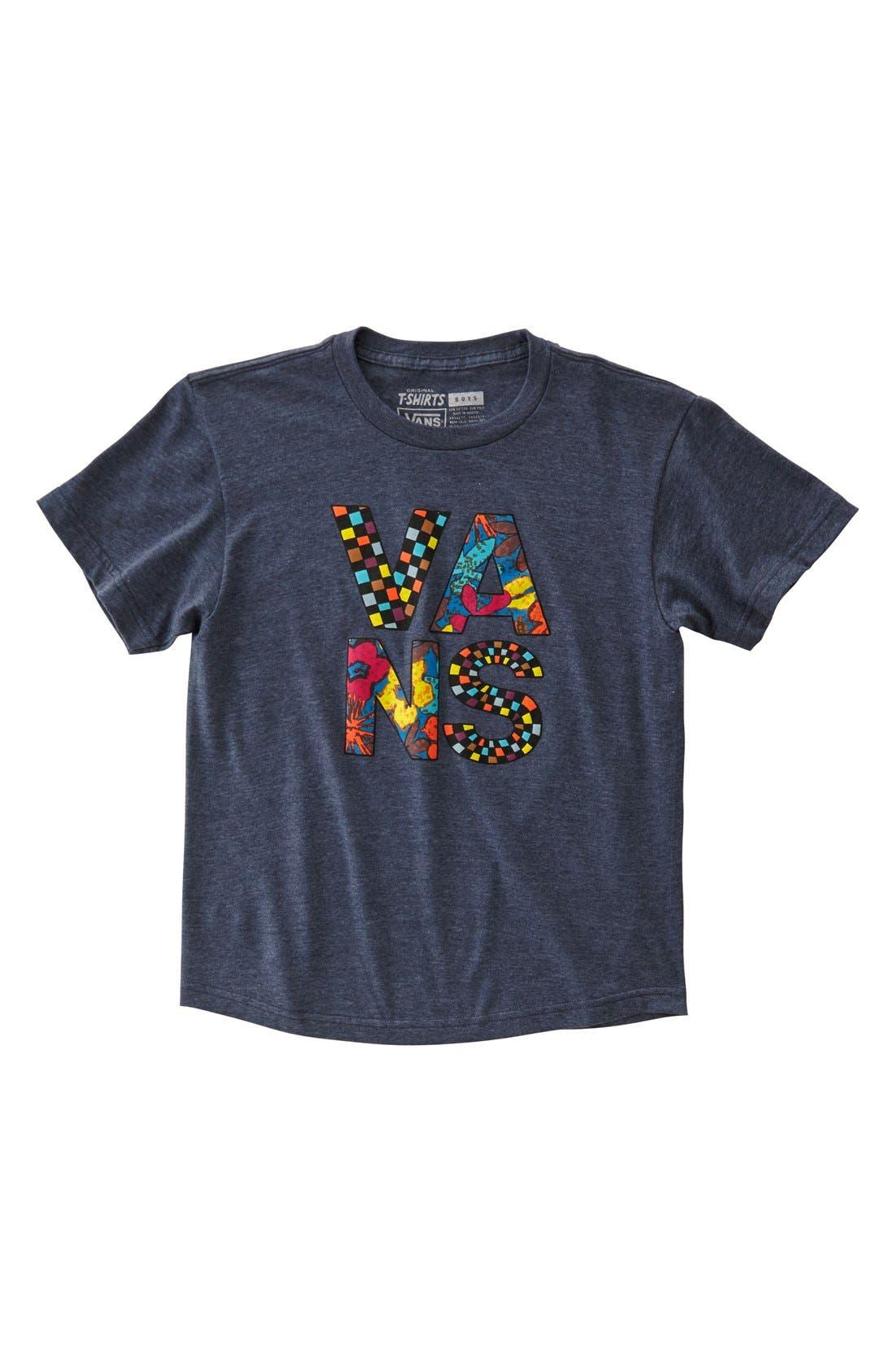 Main Image - Vans 'Typesetter' Graphic T-Shirt (Big Boys)