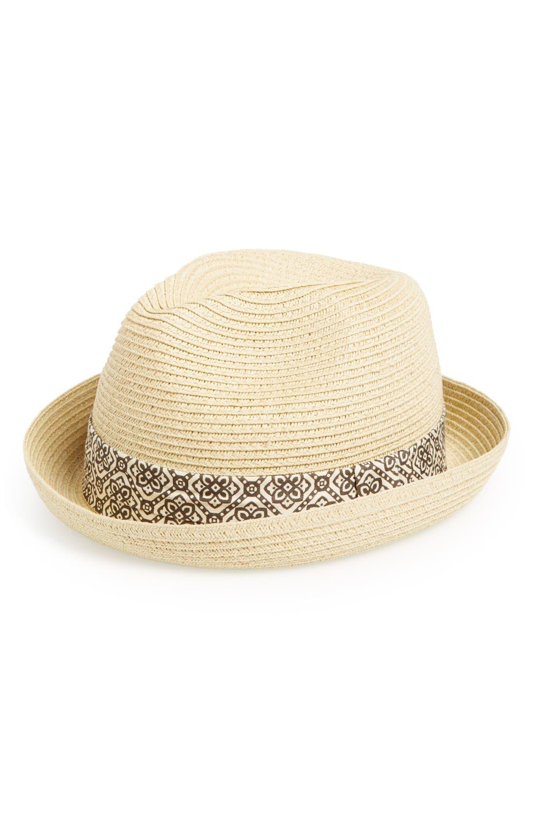 Main Image - San Diego Hat Fedora (Toddler Boys)