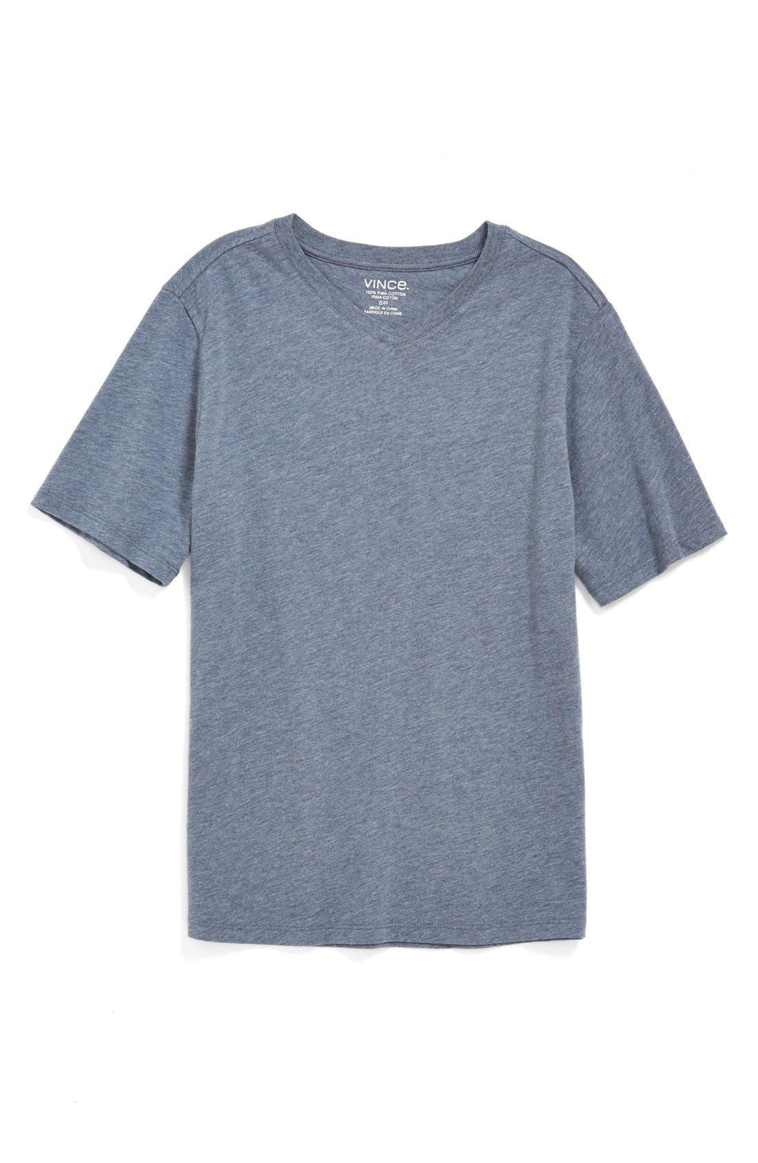 Alternate Image 1 Selected - Vince 'Favorite' V-Neck T-Shirt (Little Boys)
