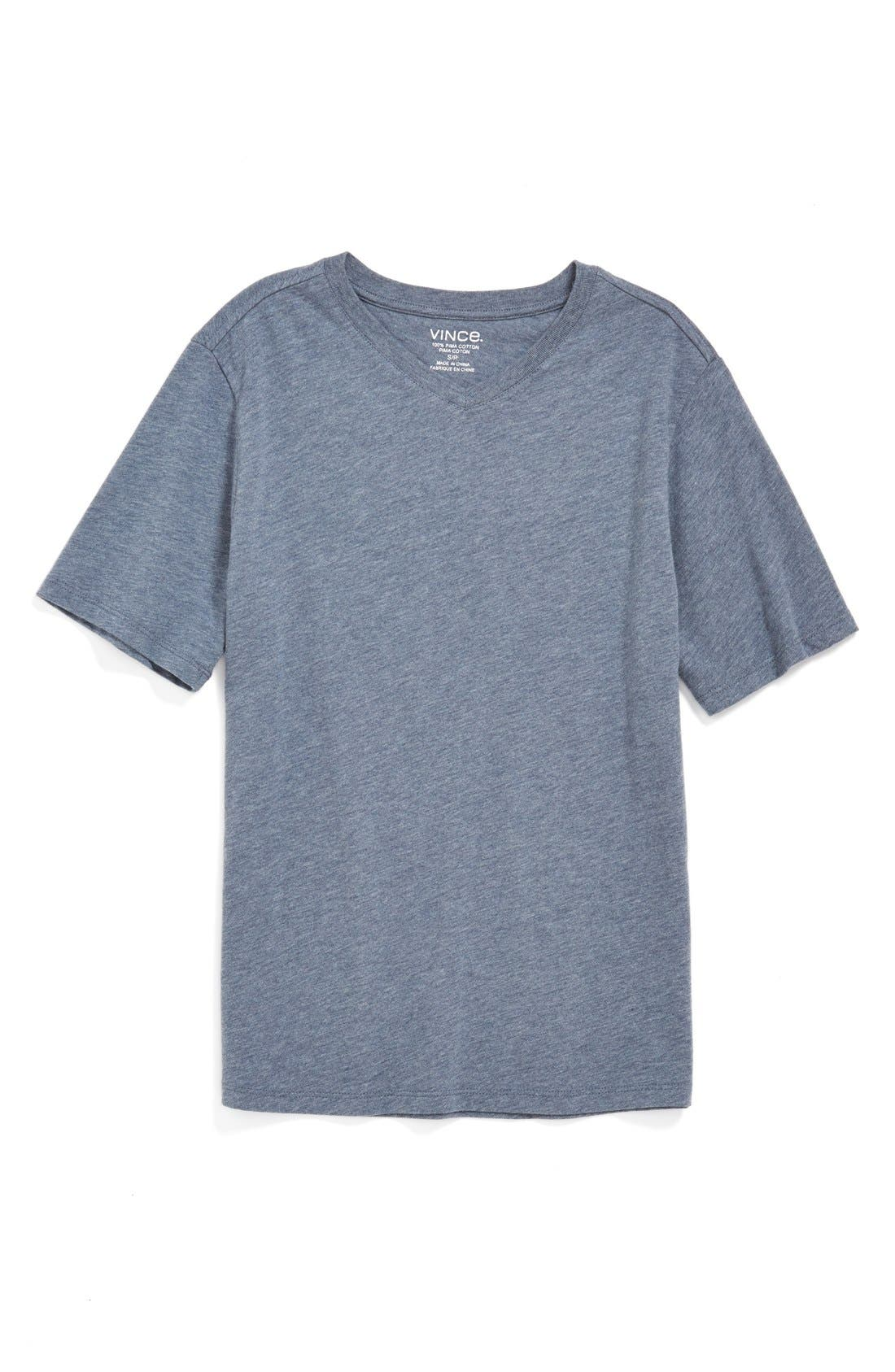 Main Image - Vince 'Favorite' V-Neck T-Shirt (Little Boys)